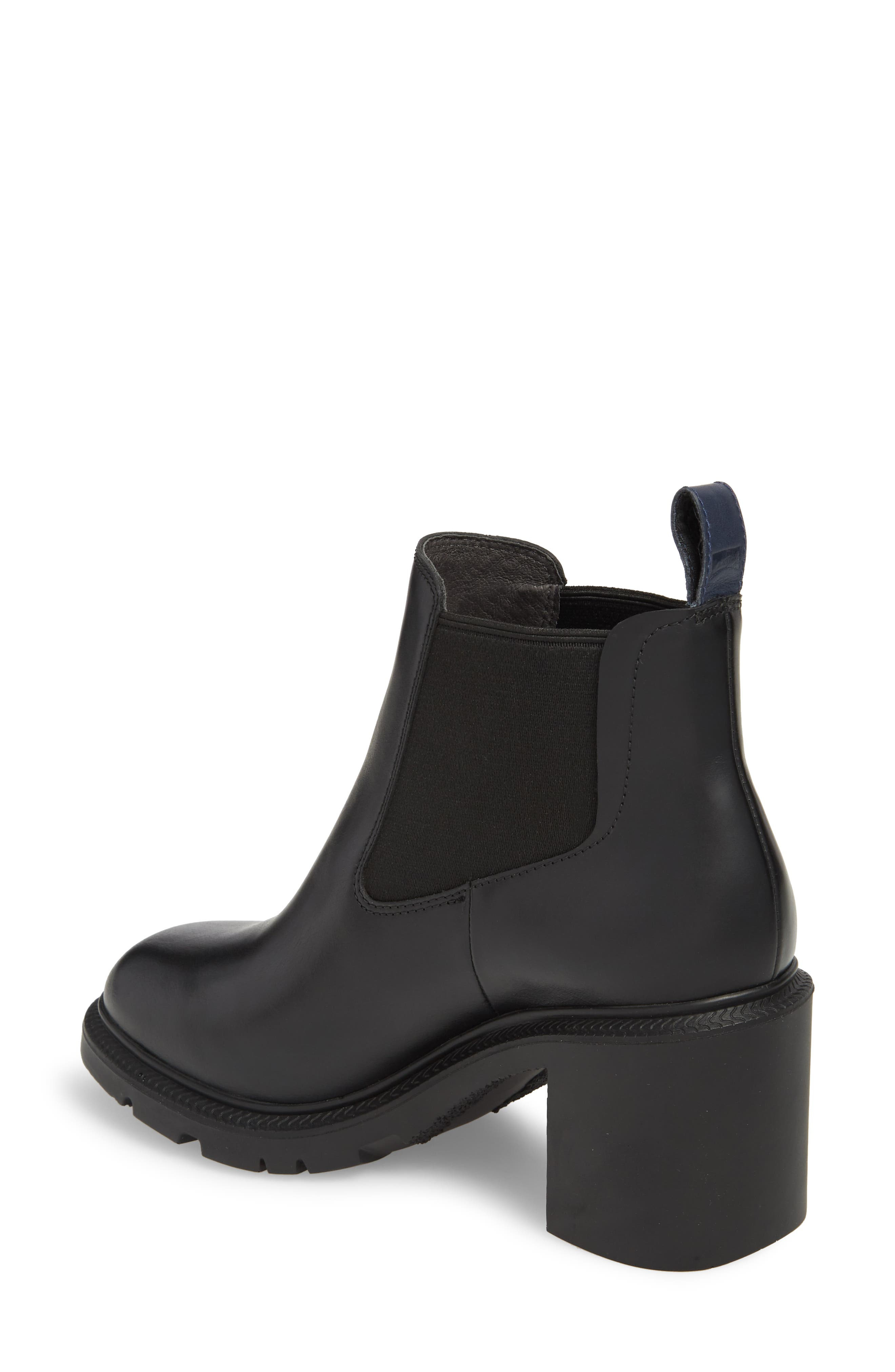 CAMPER,                             Whitnee Bootie,                             Alternate thumbnail 2, color,                             BLACK LEATHER/ BLACK