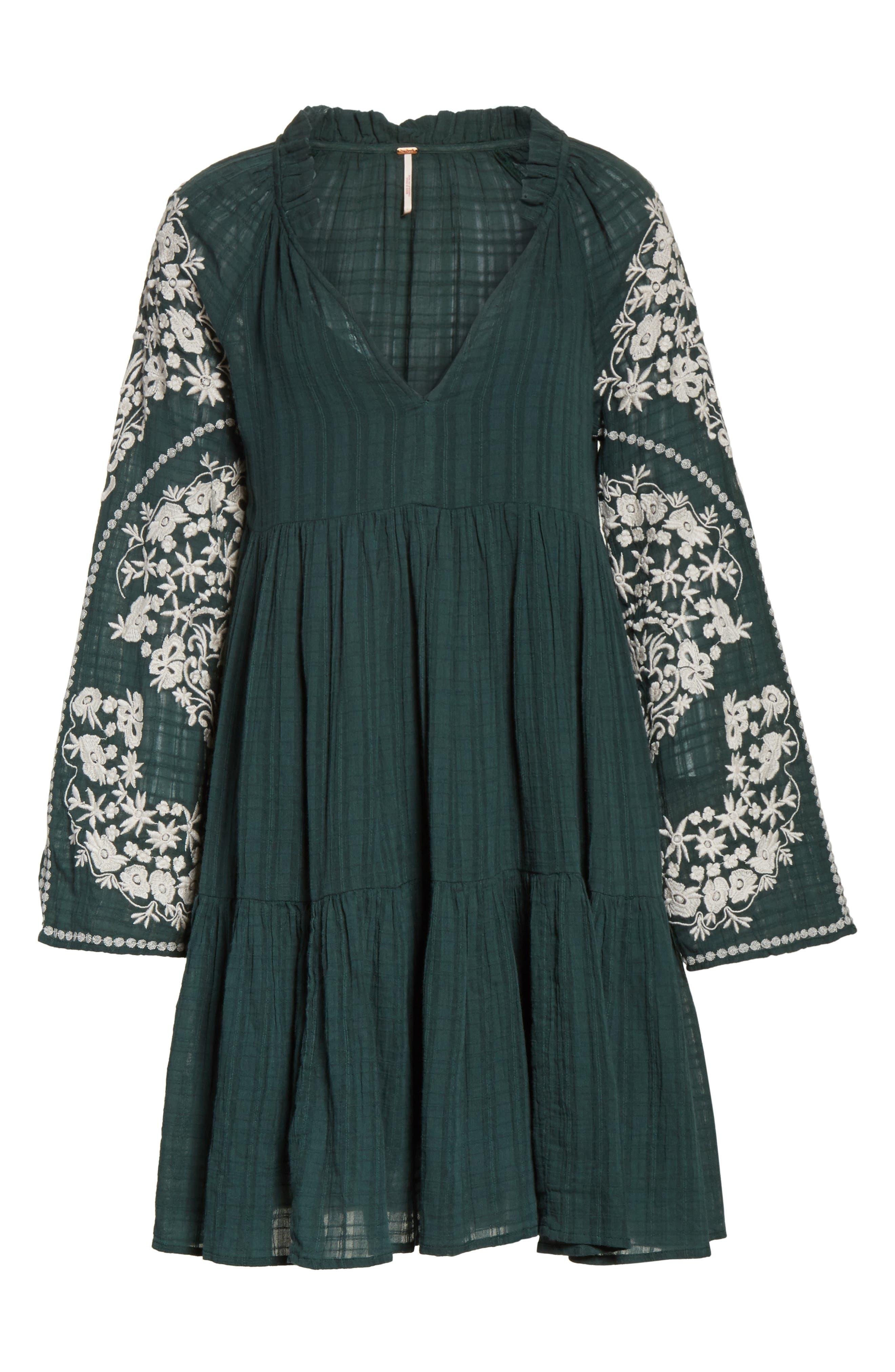 Emerald City Shift Dress,                             Alternate thumbnail 7, color,                             300
