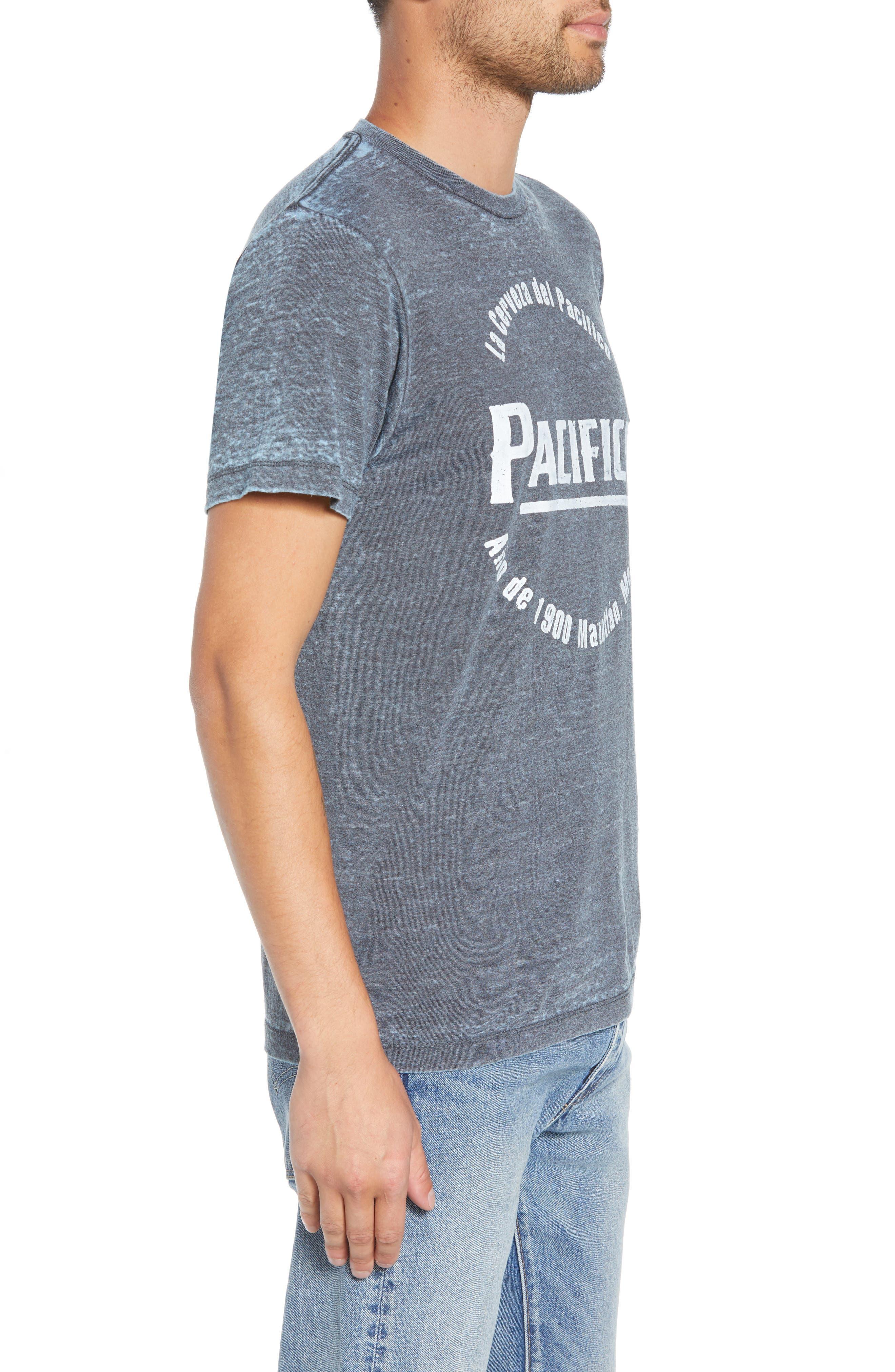 Pacifico Burnout T-Shirt,                             Alternate thumbnail 3, color,                             420