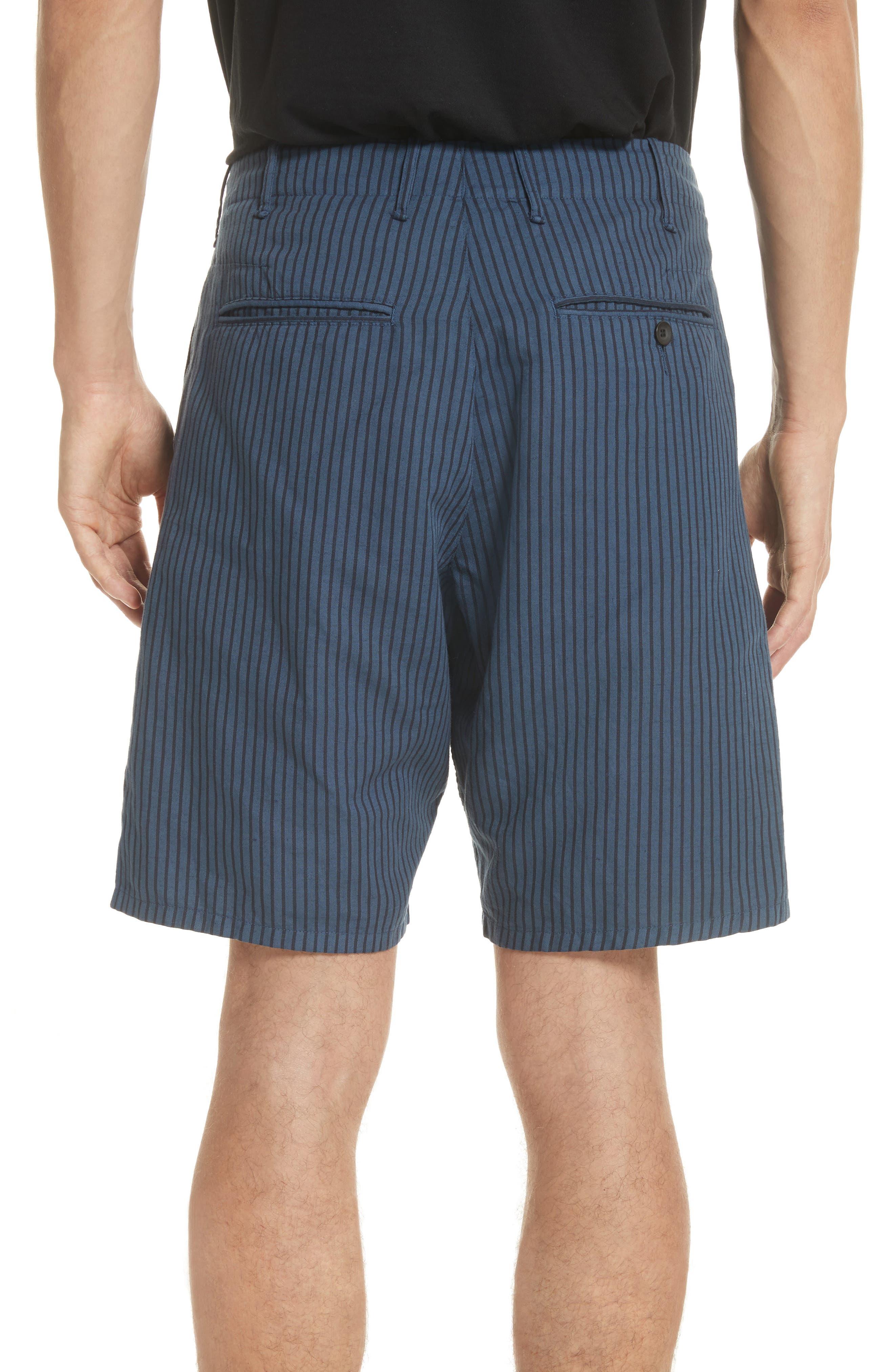 rag + bone Stripe Shorts,                             Alternate thumbnail 2, color,                             416