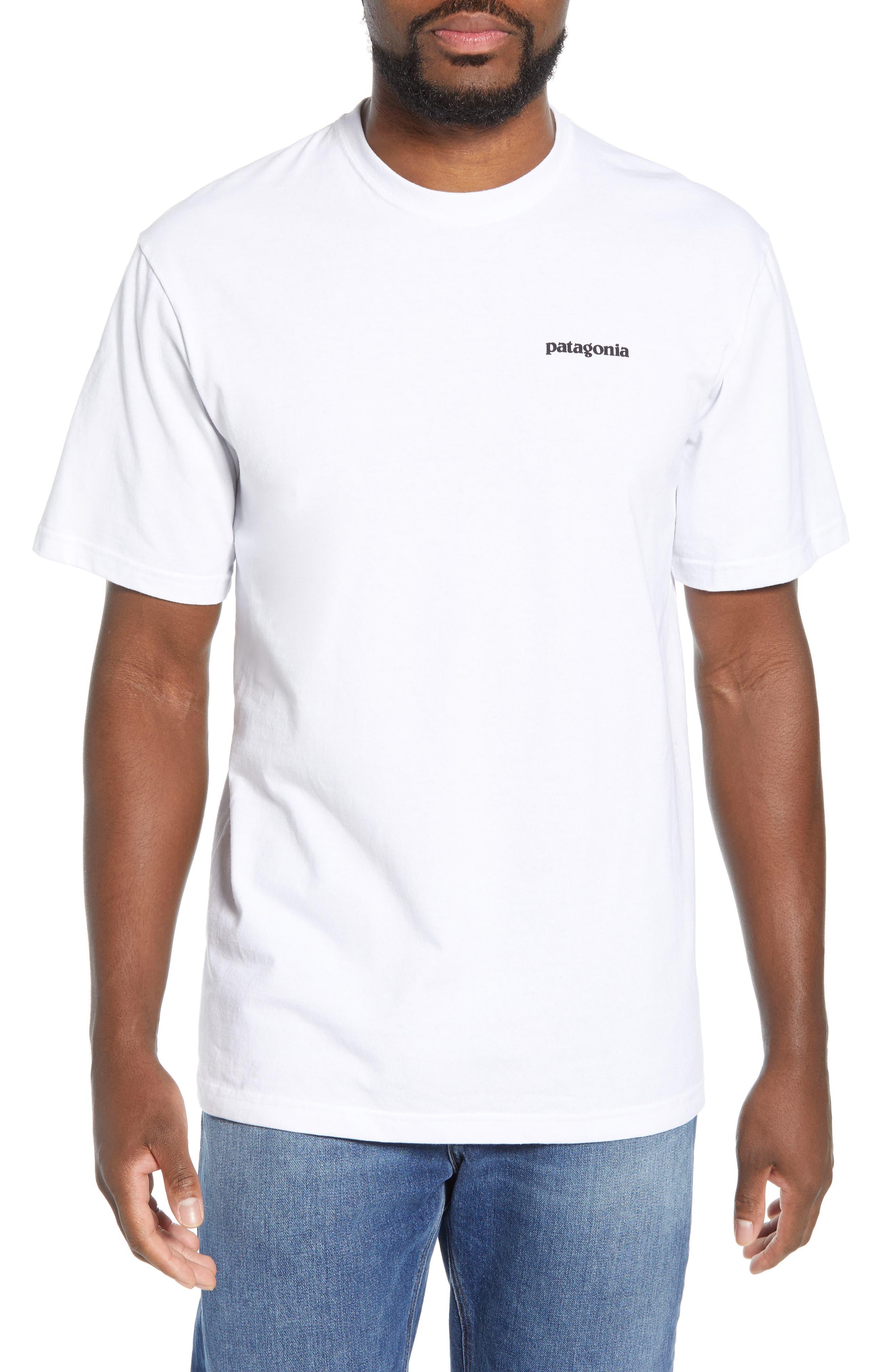 Patagonia Fitz Roy Bison Responsibili-Tee T-Shirt, White