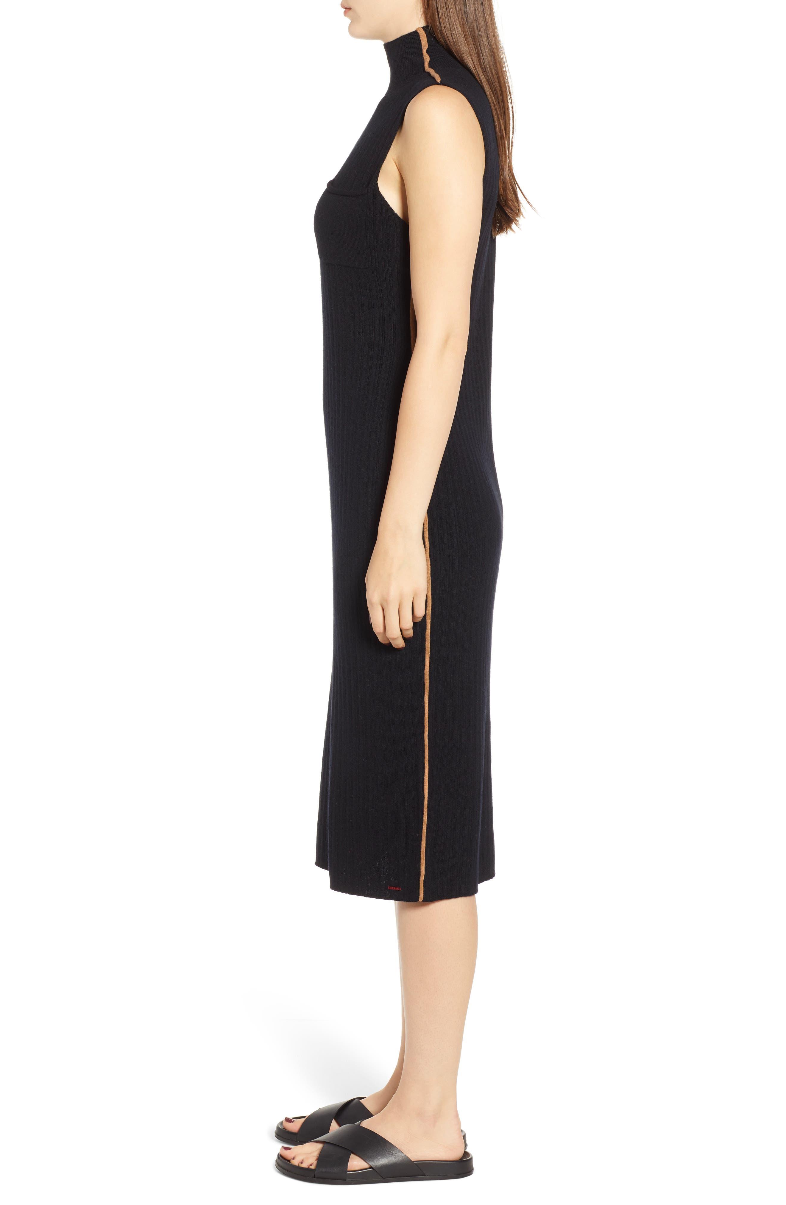 N:PHILANTHROPY,                             Henry Sweater Dress,                             Alternate thumbnail 4, color,                             BLACK CAT