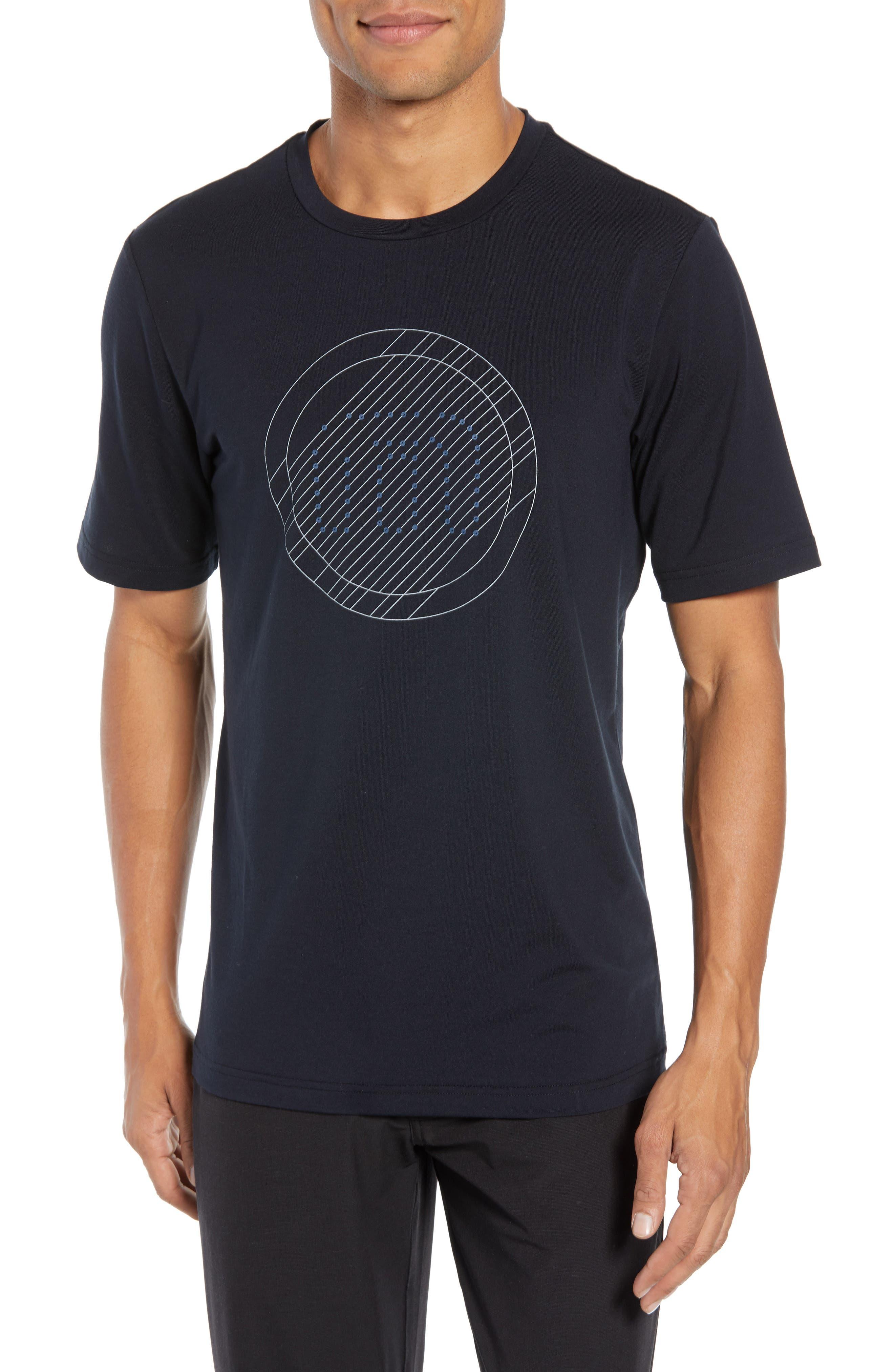 The Bias T-Shirt,                             Main thumbnail 1, color,                             BLACK