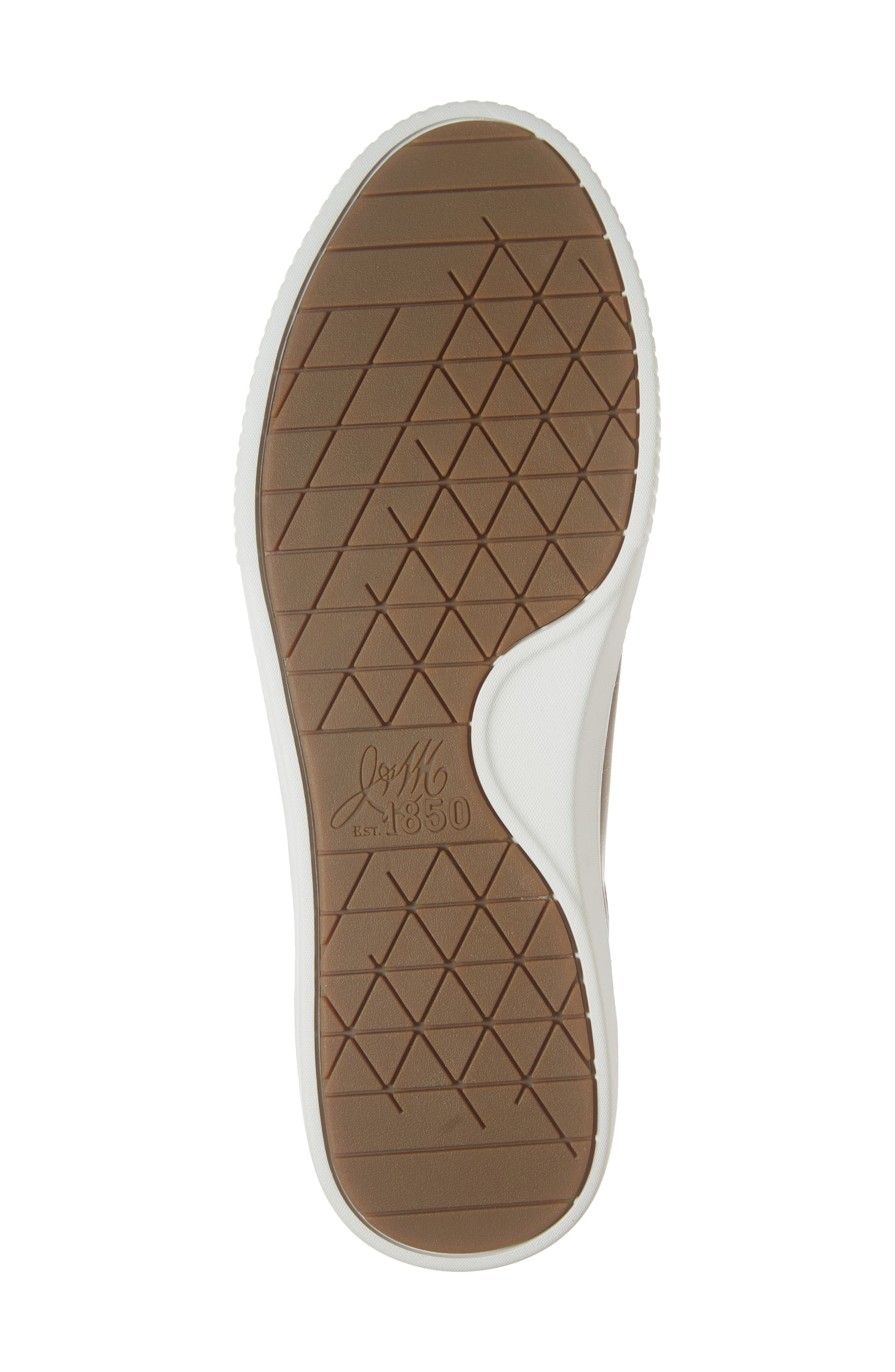Toliver Low Top Sneaker,                             Alternate thumbnail 6, color,                             TAN LEATHER