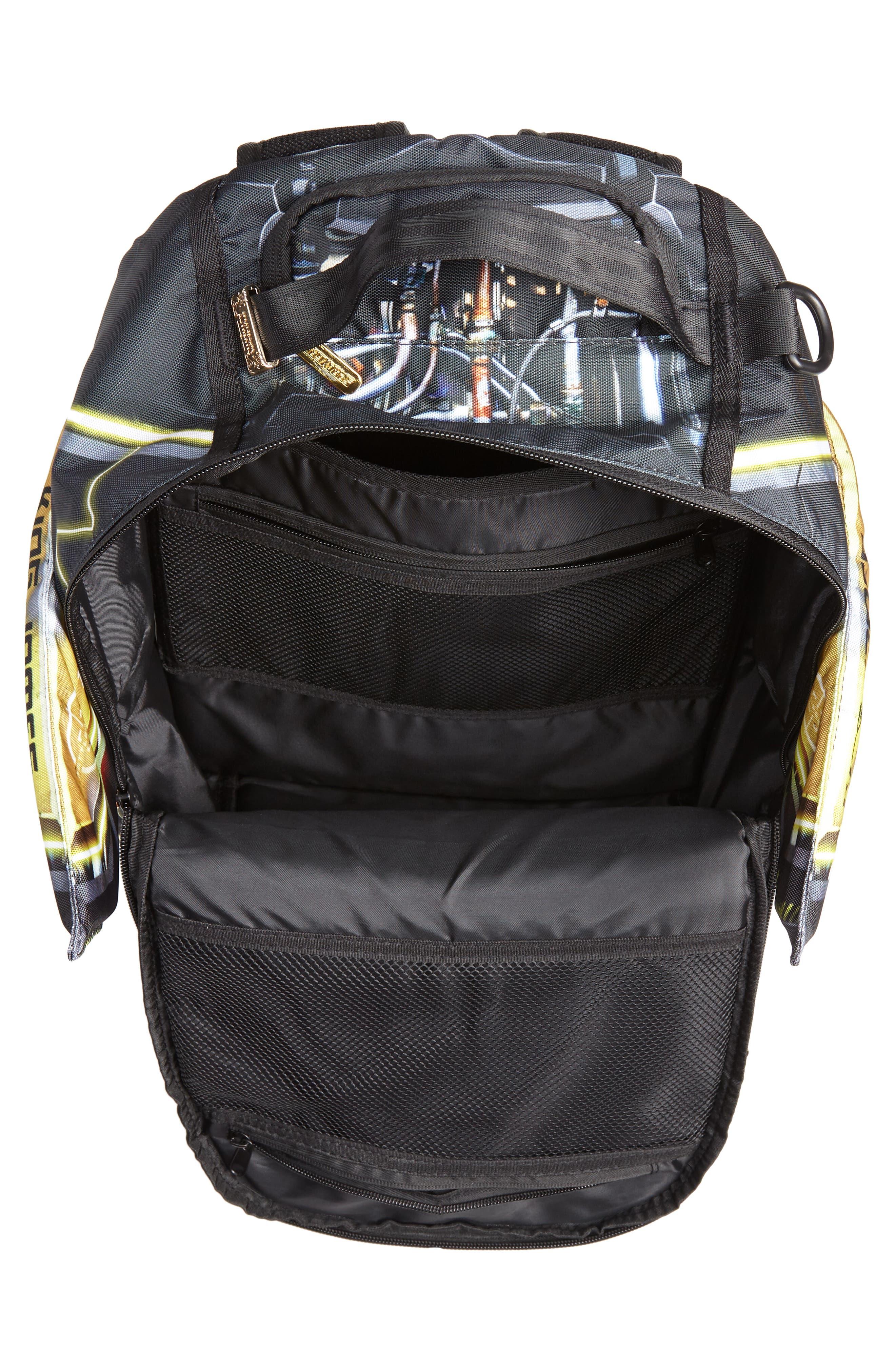 James Elysium Backpack,                             Alternate thumbnail 4, color,                             BLACK