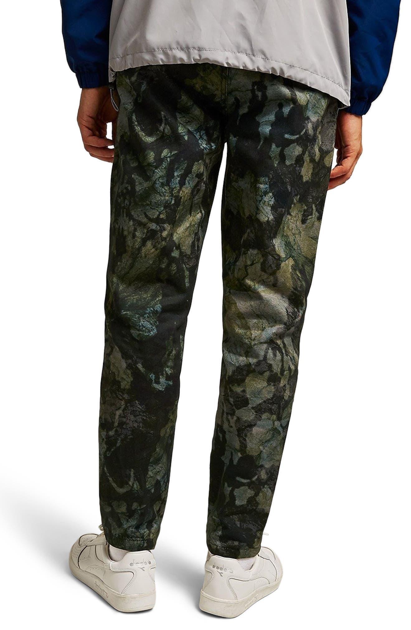 Landscape Tapered Fit Cotton Pants,                             Alternate thumbnail 2, color,                             001