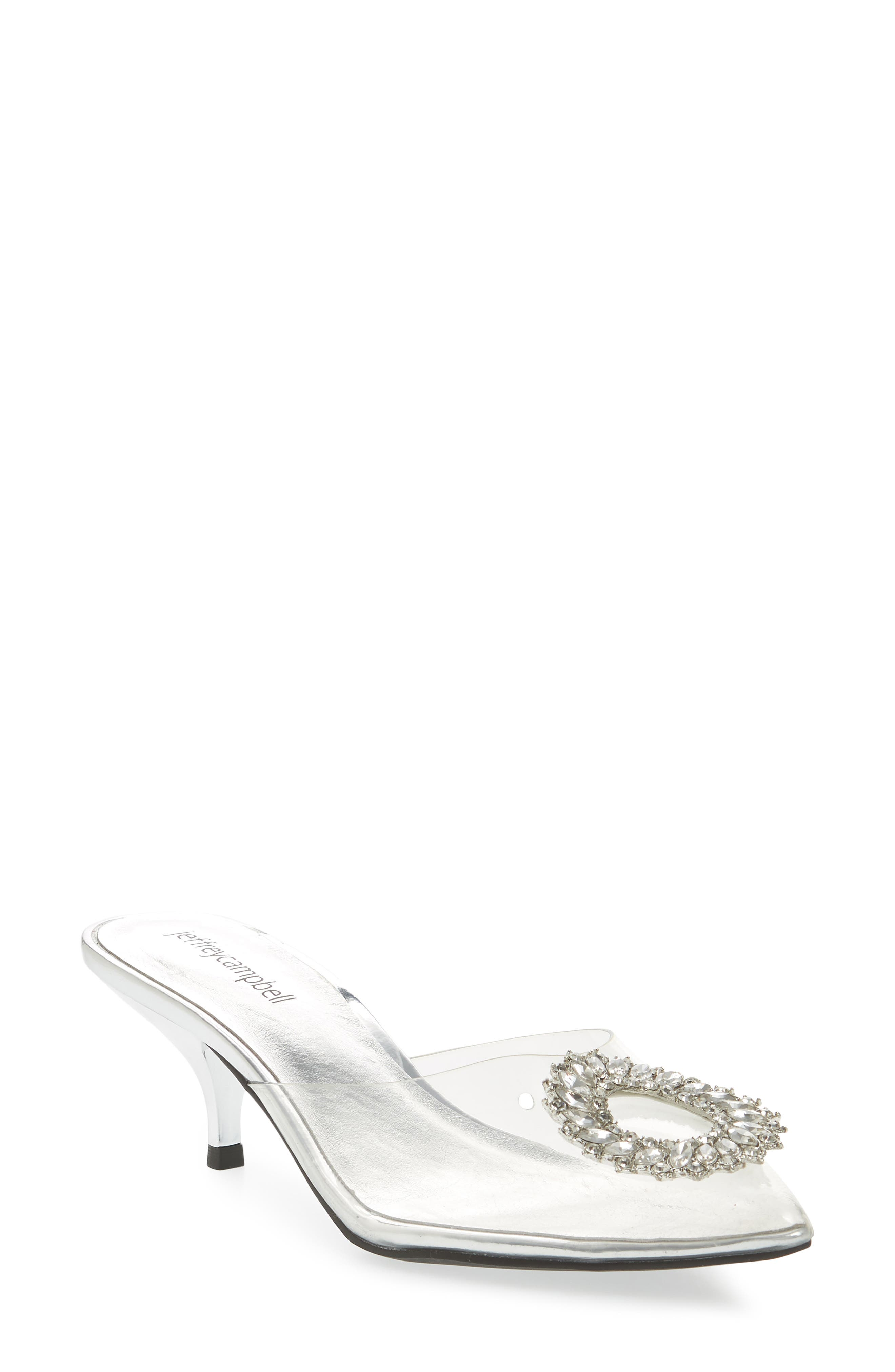 Jena Embellished Clear Pump,                             Main thumbnail 1, color,                             045
