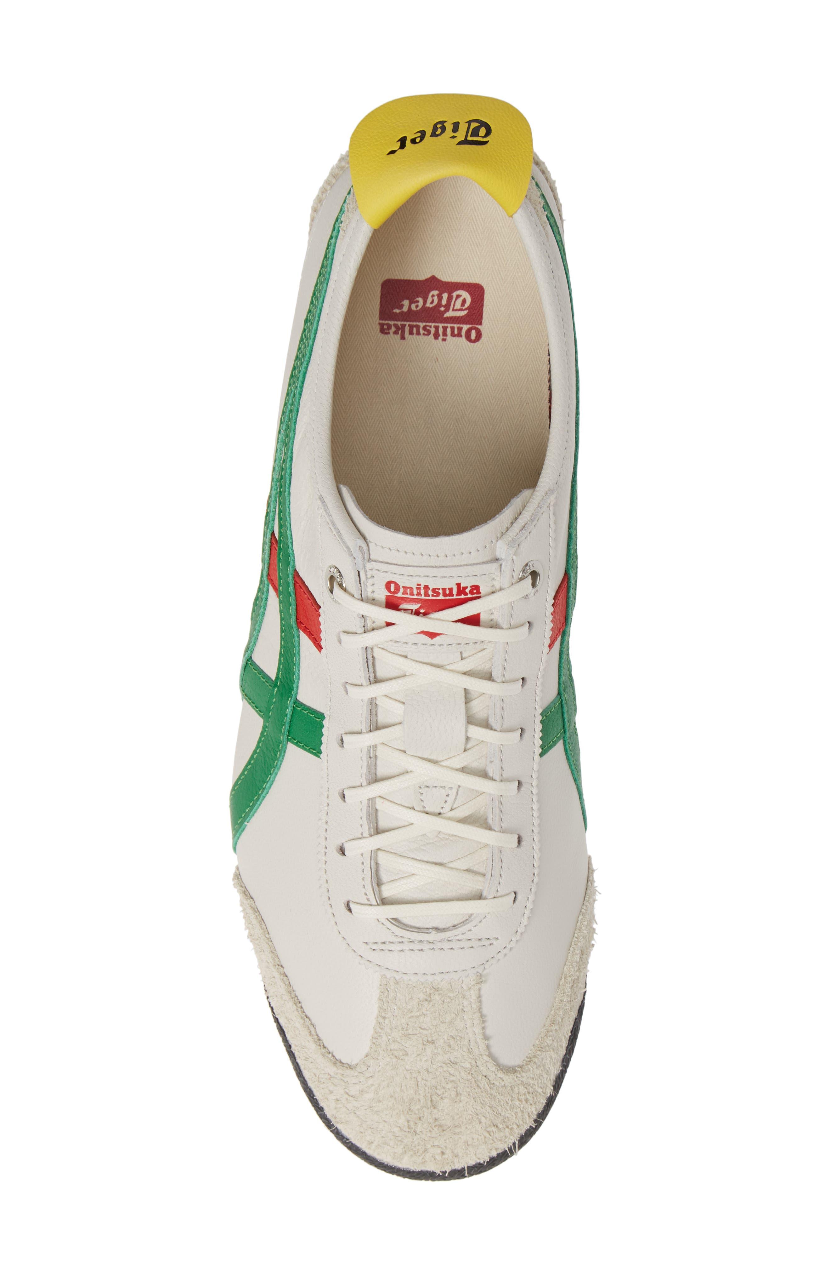 Mexico SD Sneaker,                             Alternate thumbnail 5, color,                             CREAM/ GREEN