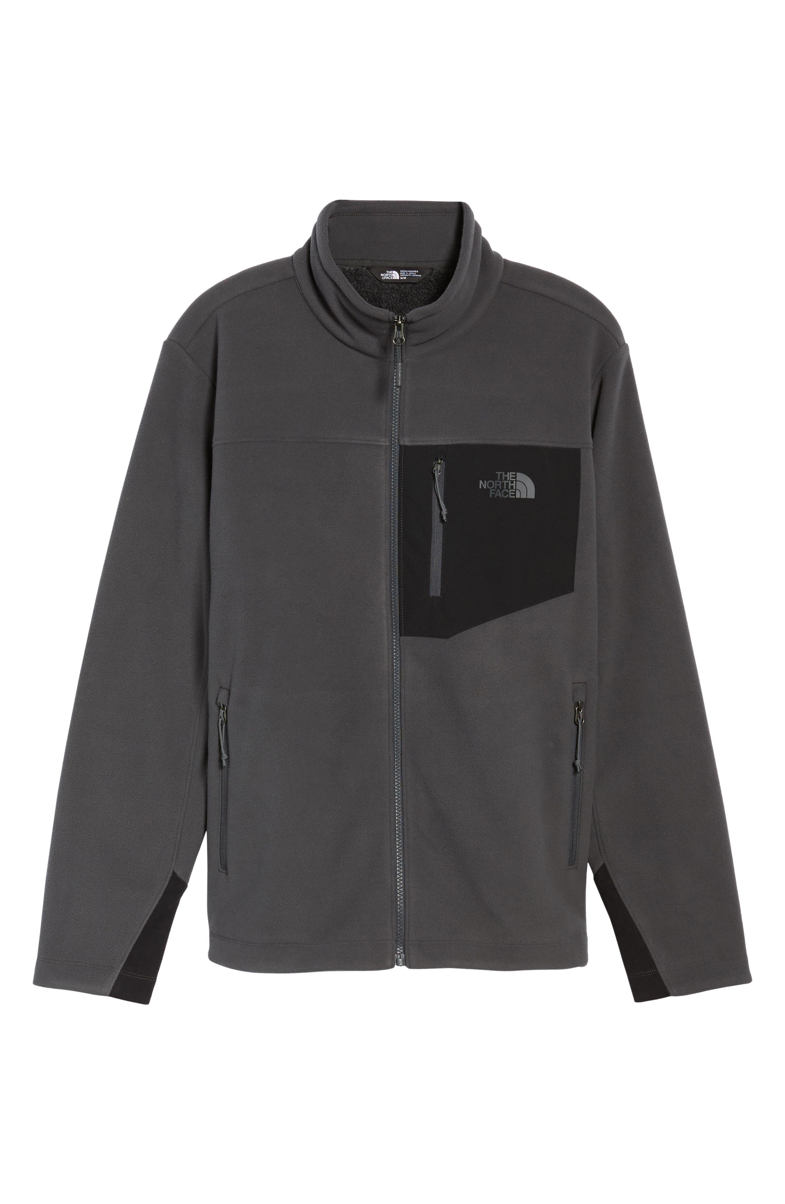 'Chimborazo' Zip Front Fleece Jacket,                             Alternate thumbnail 41, color,