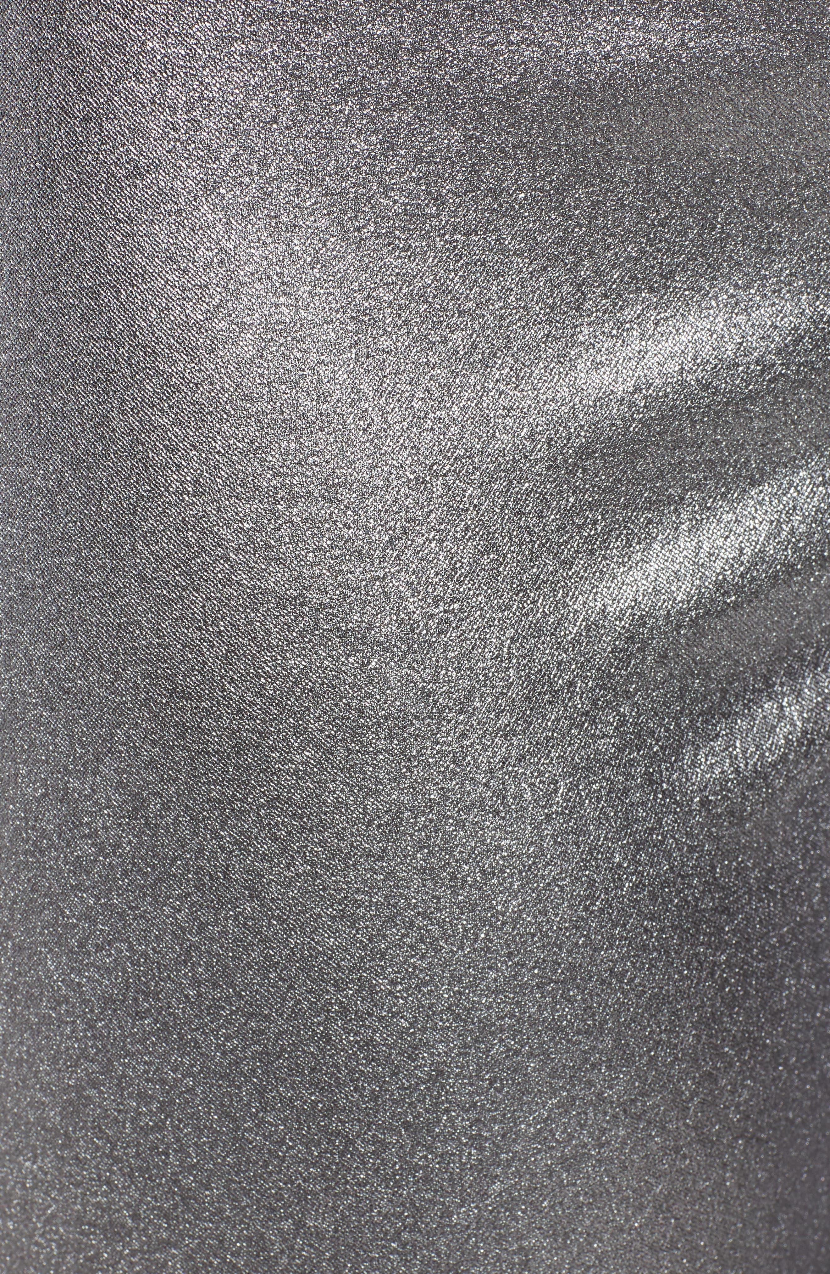 HUE,                             Iridescent Denim Leggings,                             Alternate thumbnail 6, color,                             021