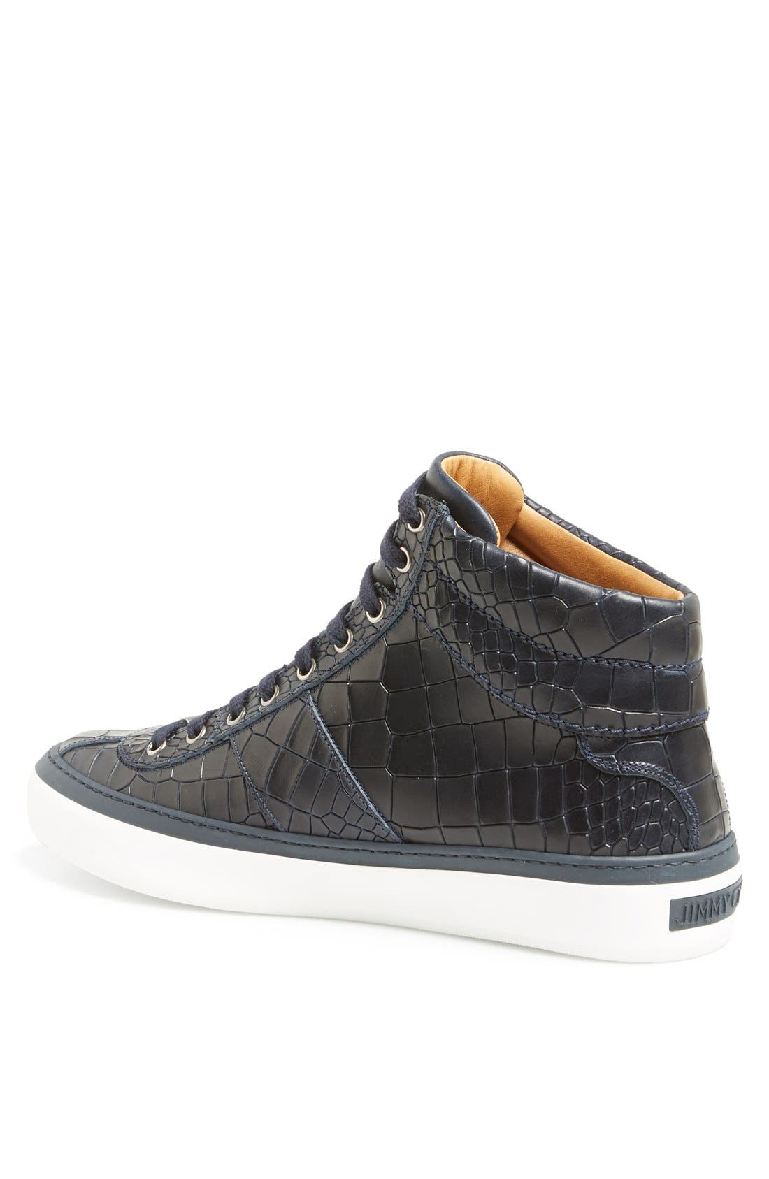 Belgravia High Top Sneaker,                             Alternate thumbnail 6, color,