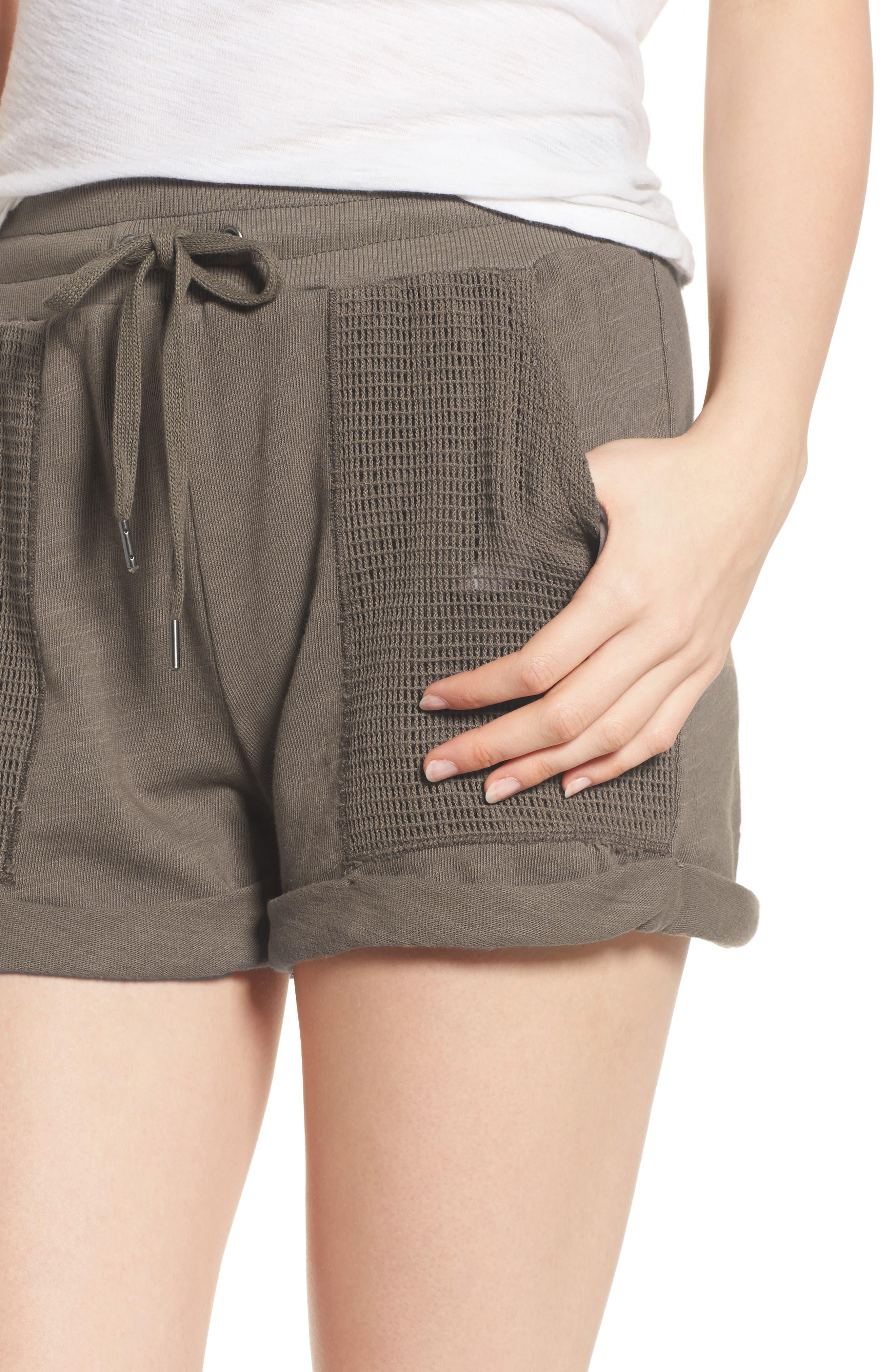 Knit Shorts,                             Alternate thumbnail 8, color,