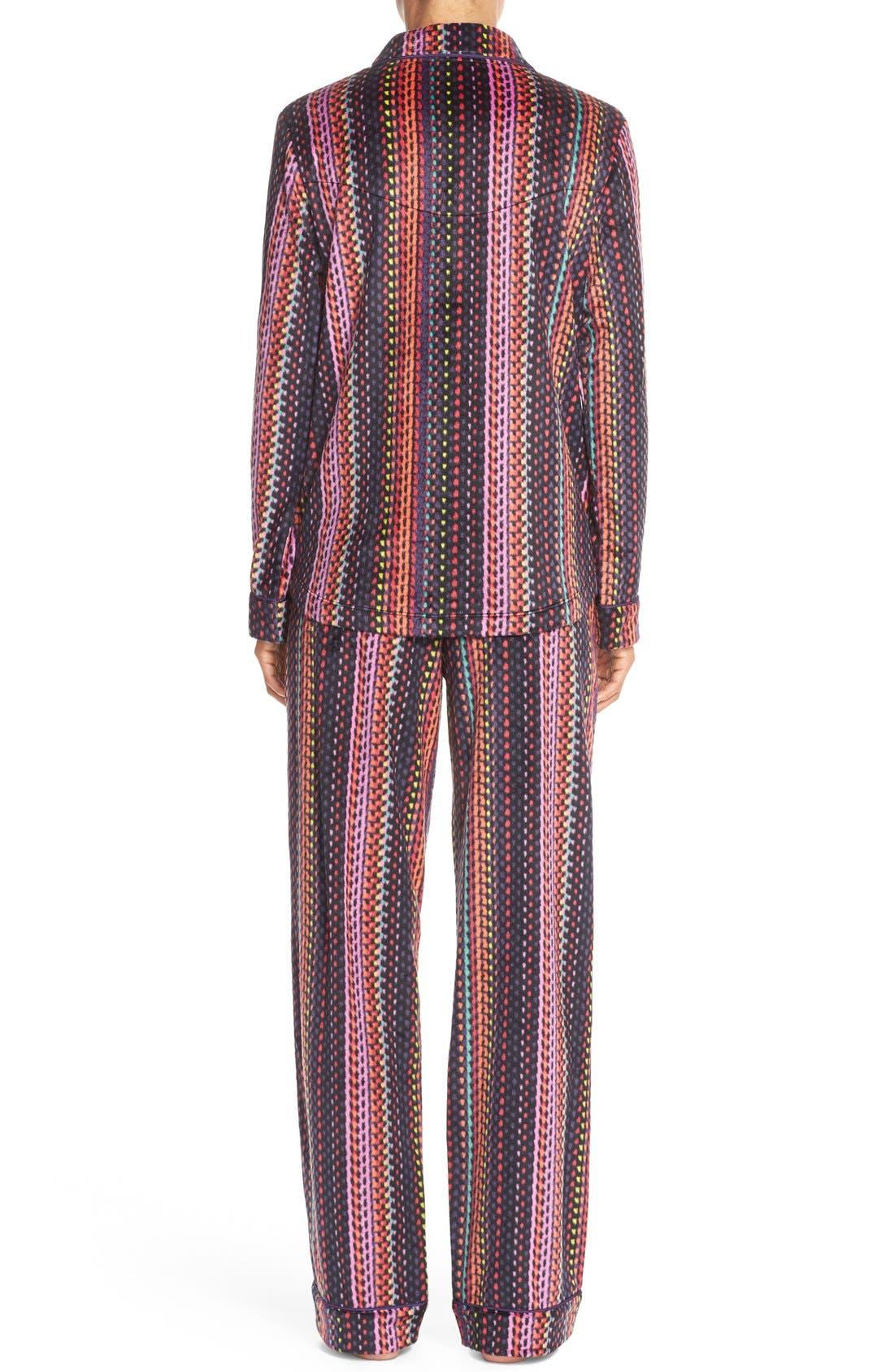 Microfleece Pajamas,                             Alternate thumbnail 4, color,                             001