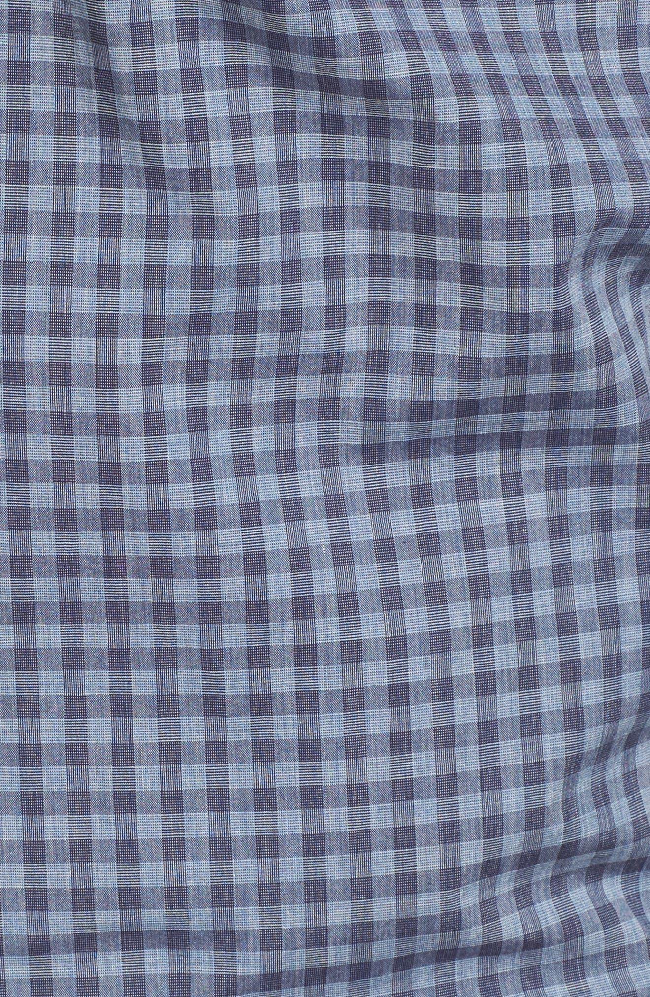Red Rocks Check Sport Shirt,                             Alternate thumbnail 5, color,                             400