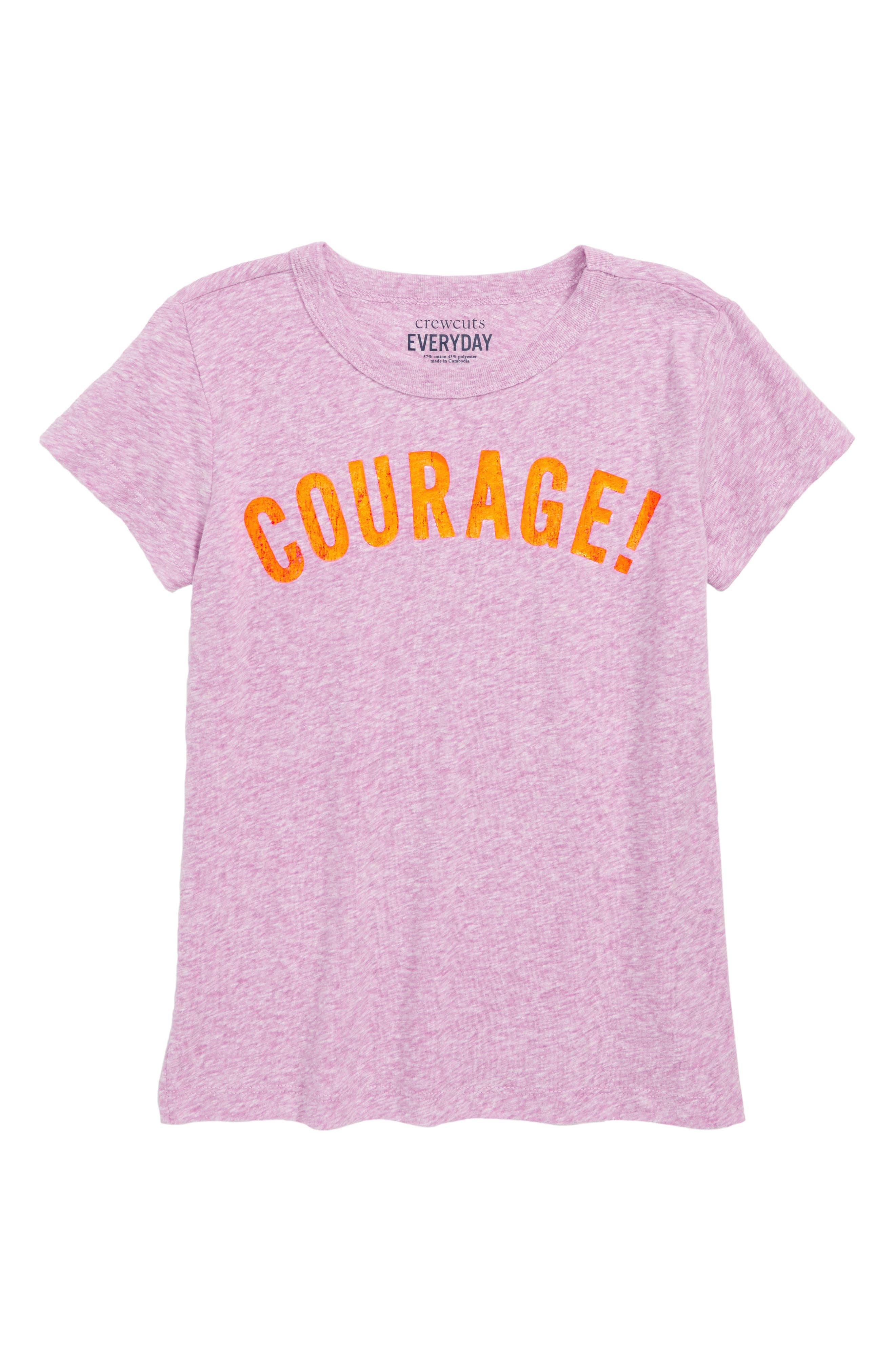 Courage Tee,                             Main thumbnail 1, color,                             500