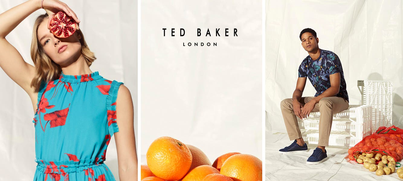 Ted Baker London spring 2019.