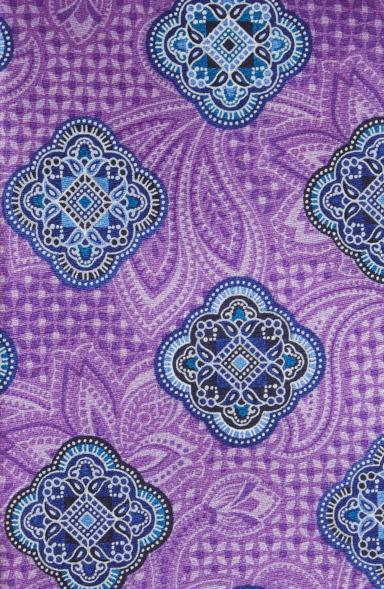 Delpy Medallion Silk Tie,                             Alternate thumbnail 3, color,