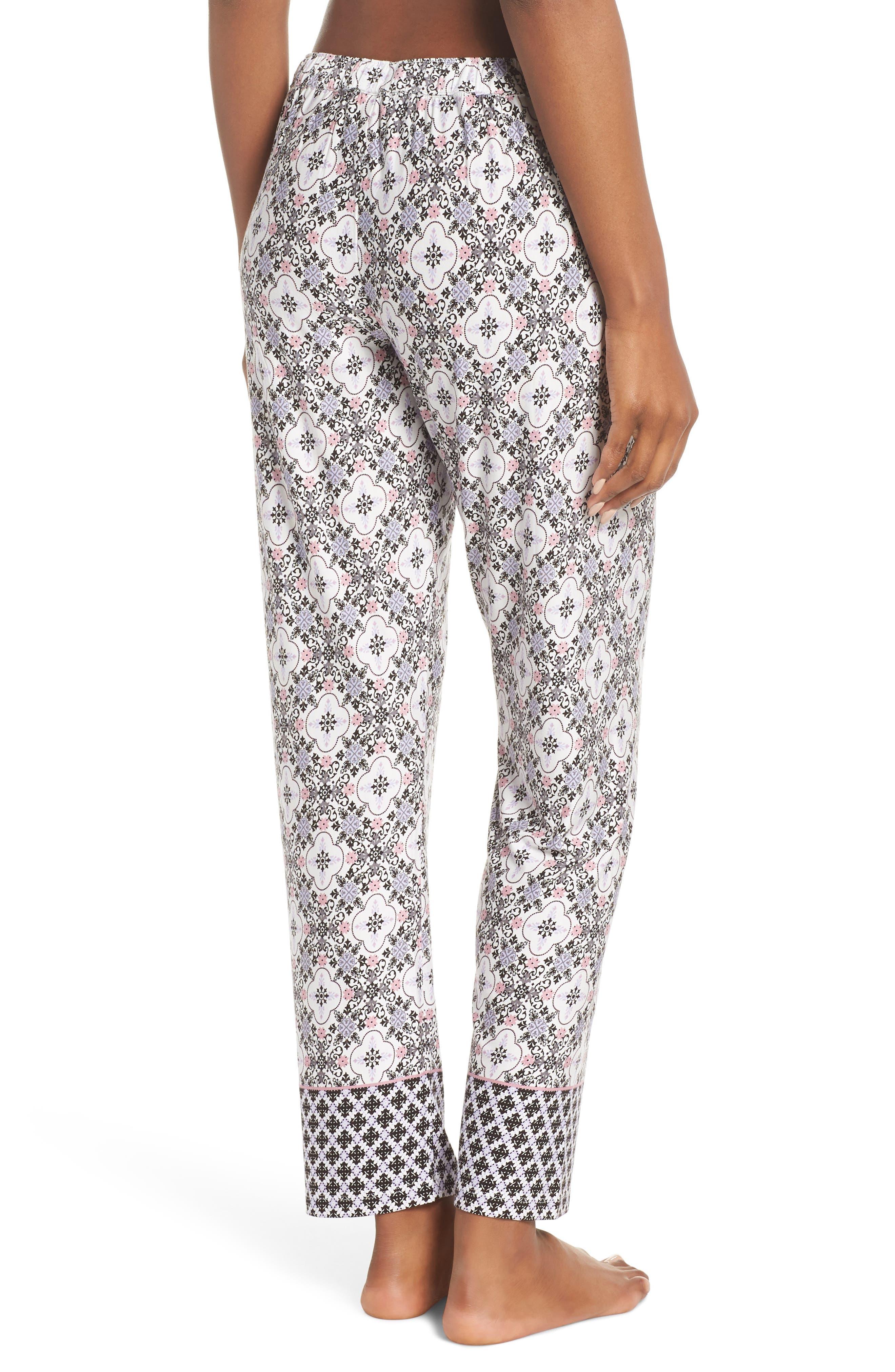 Ankle Pajama Pants,                             Alternate thumbnail 2, color,                             901