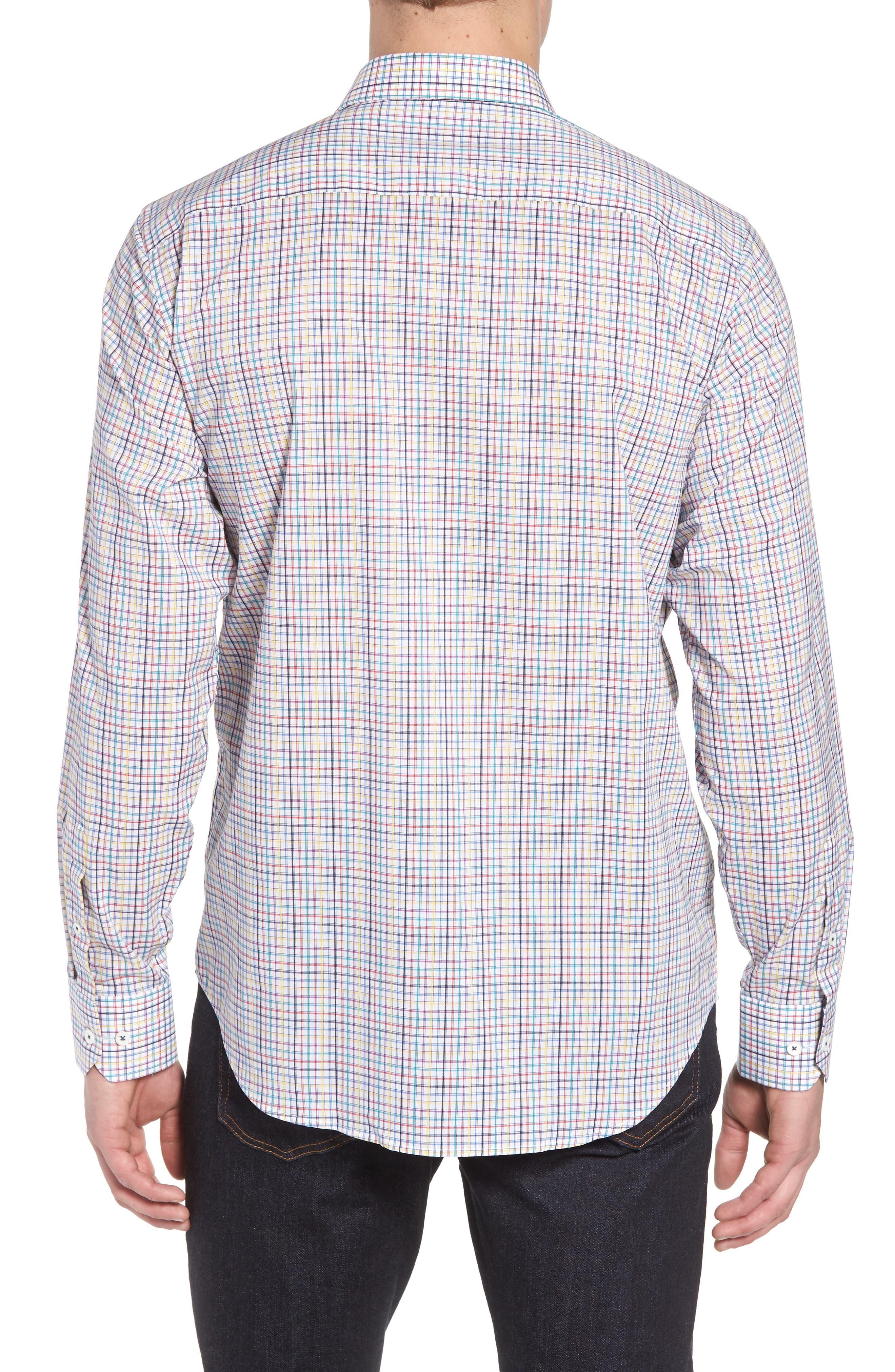 Classic Fit Woven Sport Shirt,                             Alternate thumbnail 2, color,                             601