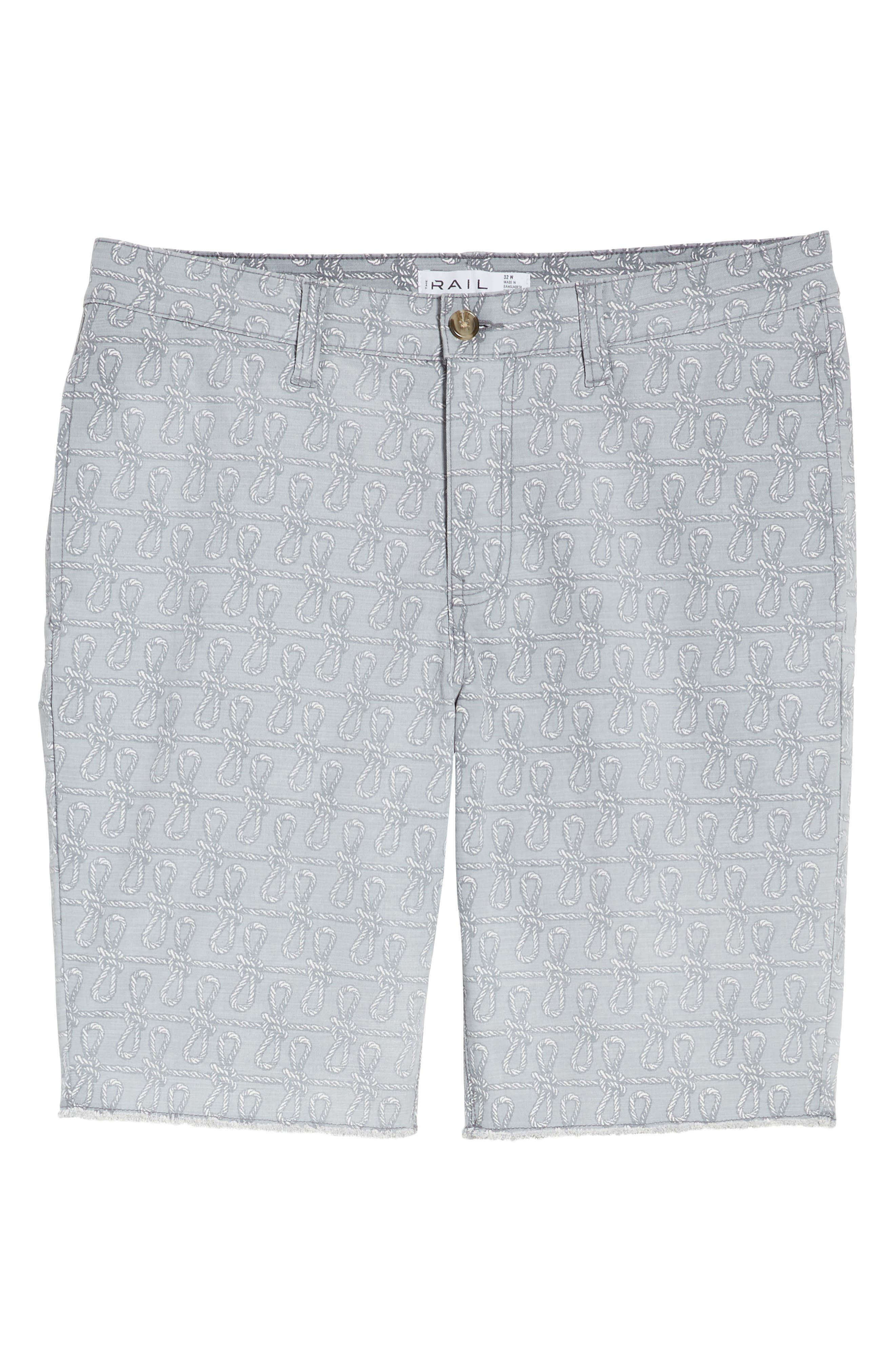 Print Frost Wash Shorts,                             Alternate thumbnail 6, color,                             030