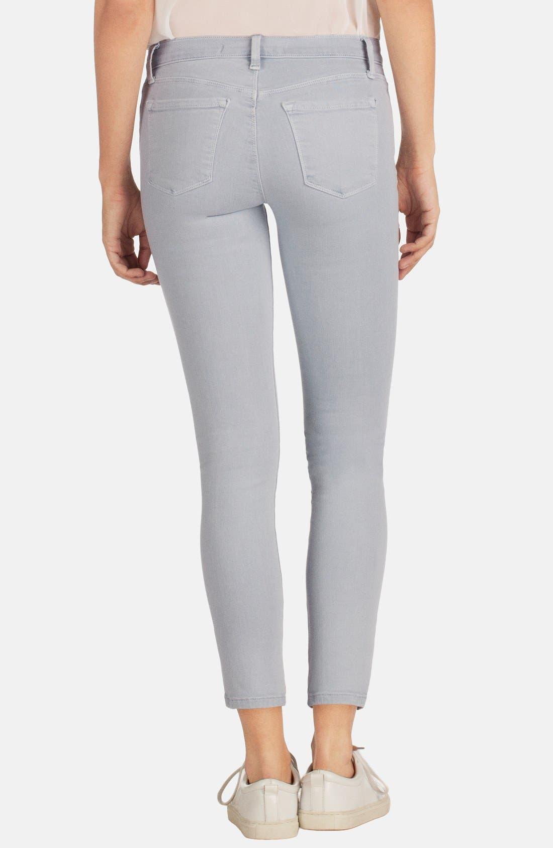 'Rail' Mid Rise Super Skinny Jeans,                             Alternate thumbnail 2, color,                             020