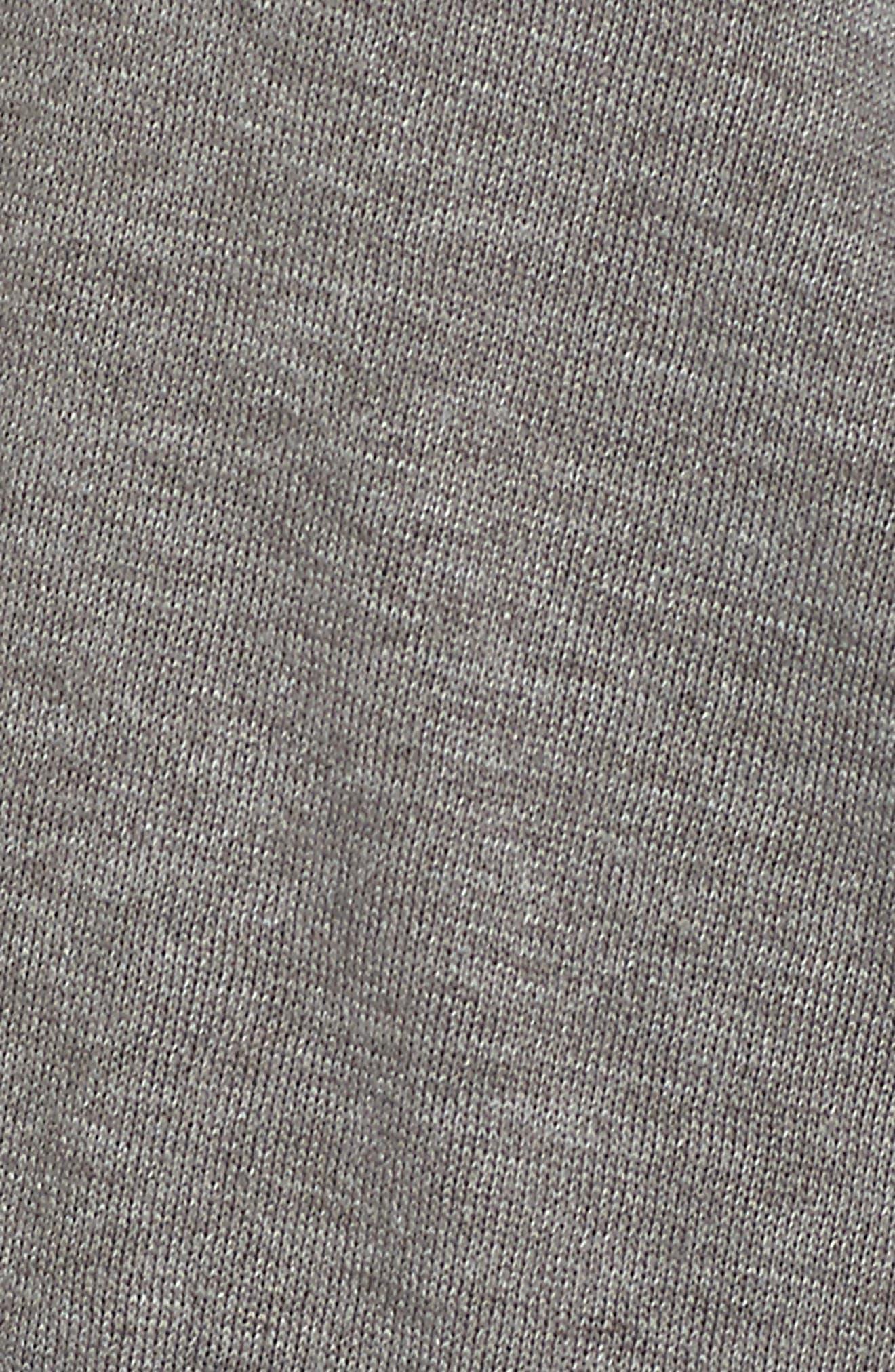 Sweatshirt Robe,                             Alternate thumbnail 5, color,                             GREY CASTLEROCK