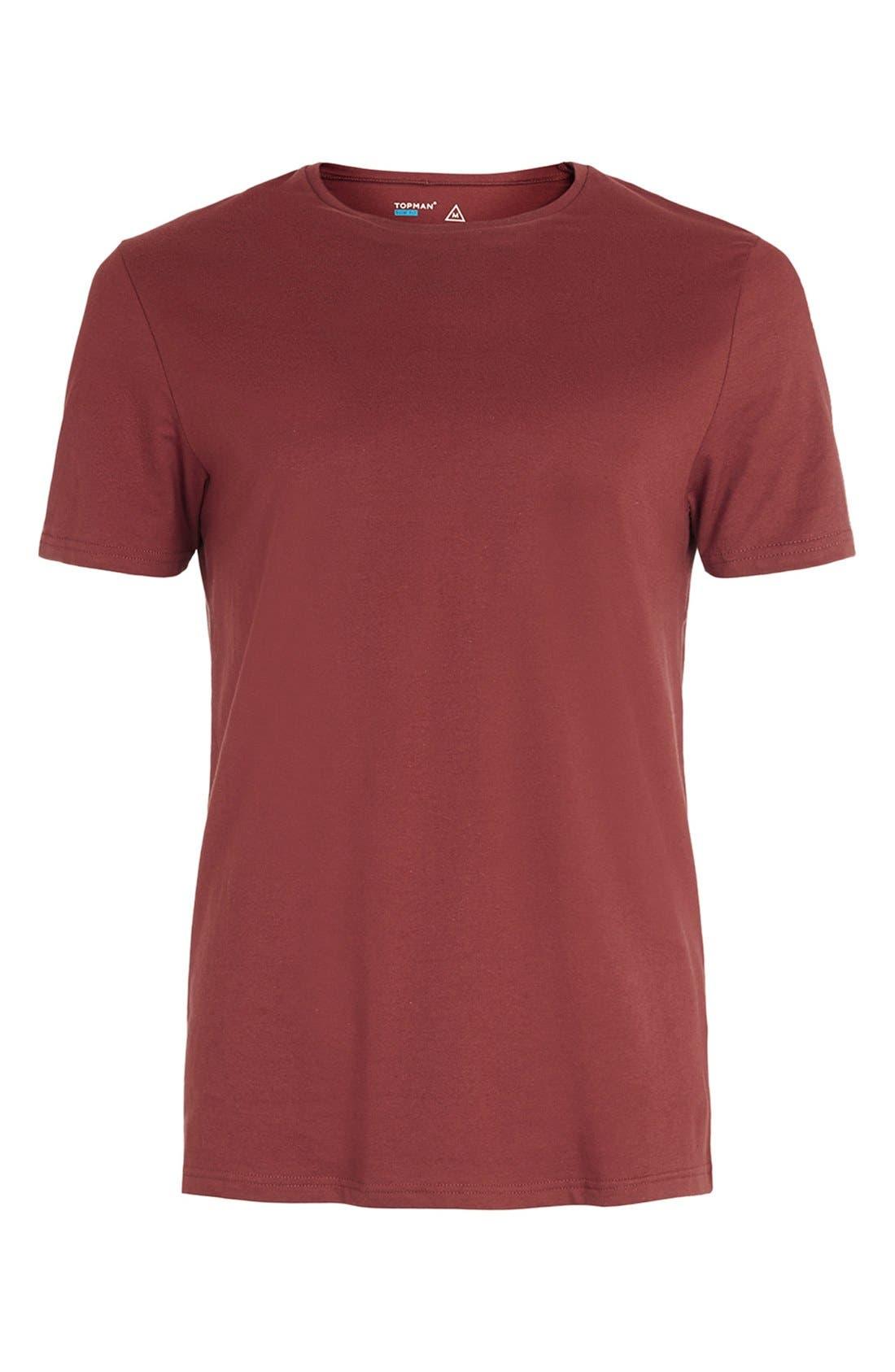 Slim Fit Crewneck T-Shirt,                             Alternate thumbnail 175, color,