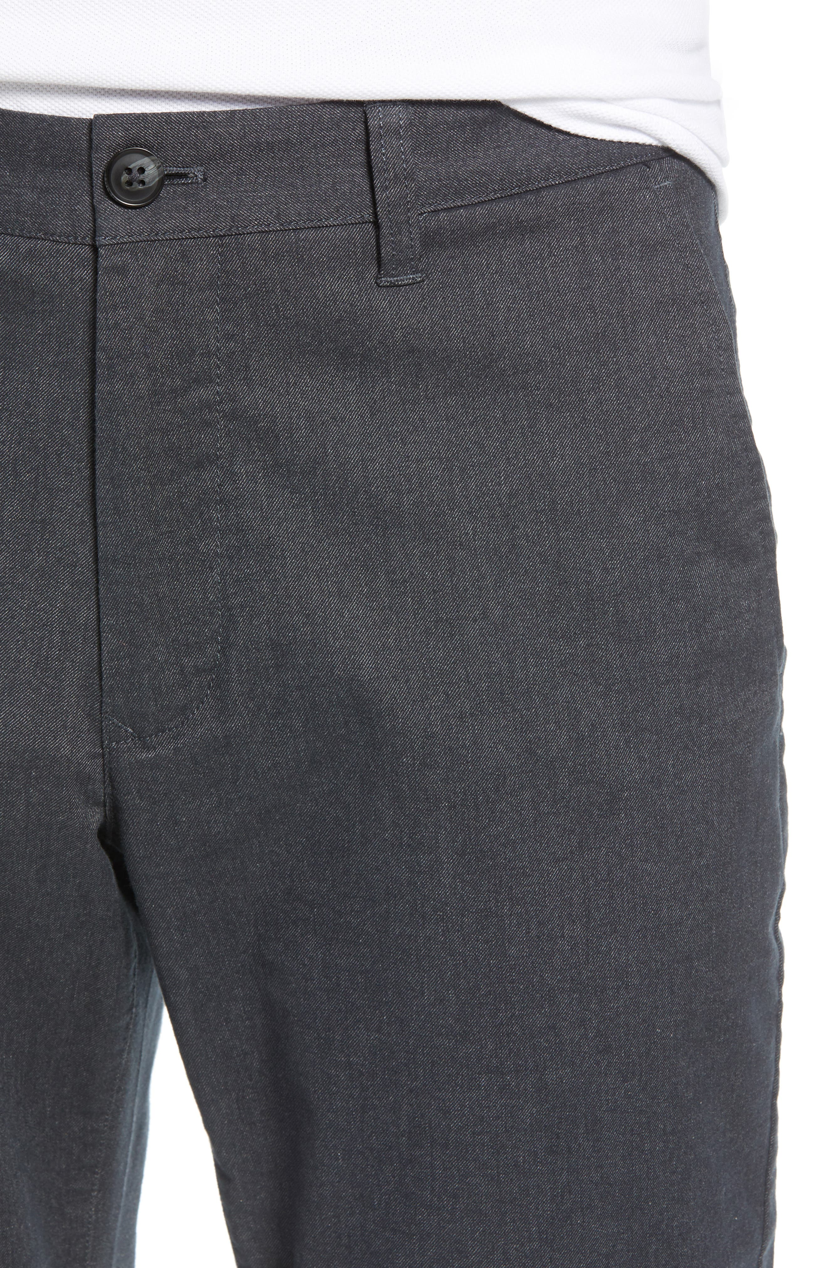 Tailored Fit Stretch Yarn-Dye Washed Chinos,                             Alternate thumbnail 4, color,                             020