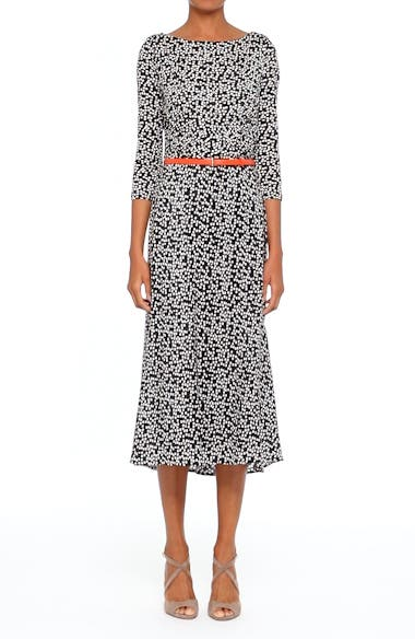 Peter Dot Print Midi Dress, video thumbnail