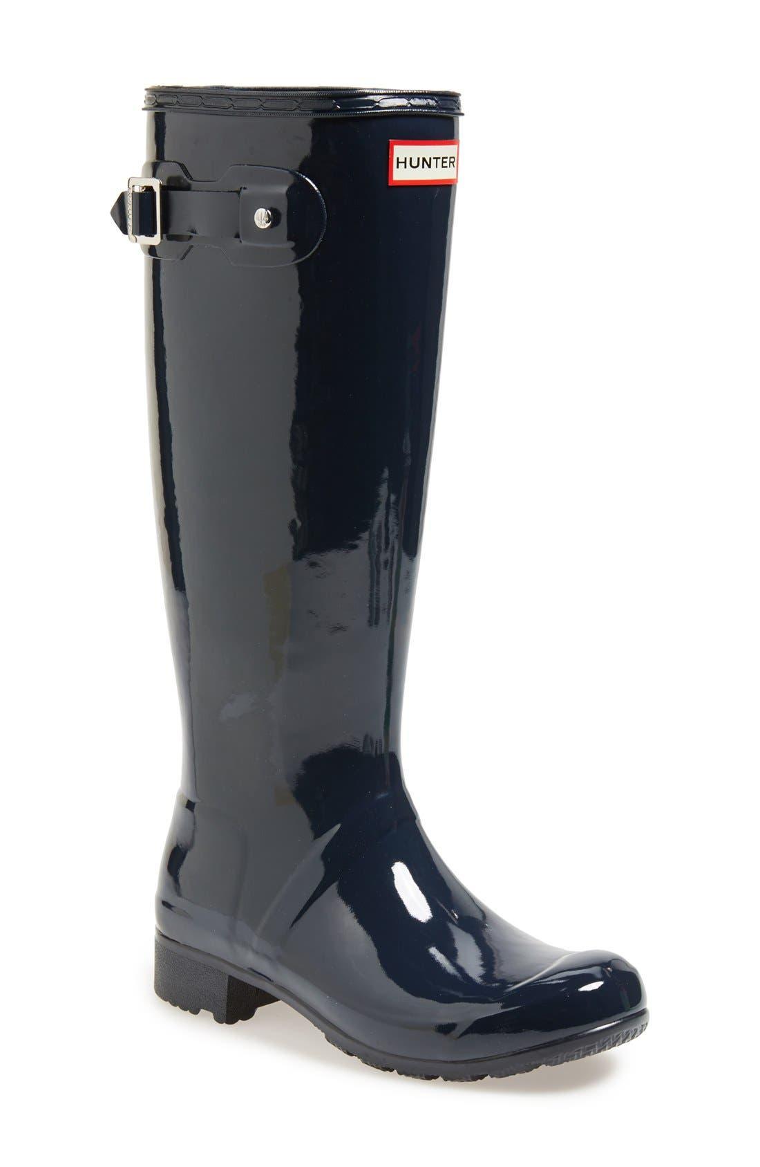 Original Tour Gloss Packable Rain Boot,                             Main thumbnail 6, color,