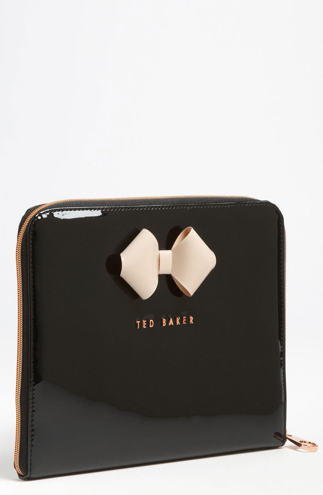 TED BAKER LONDON 'Bow' iPad Sleeve, Main, color, 009