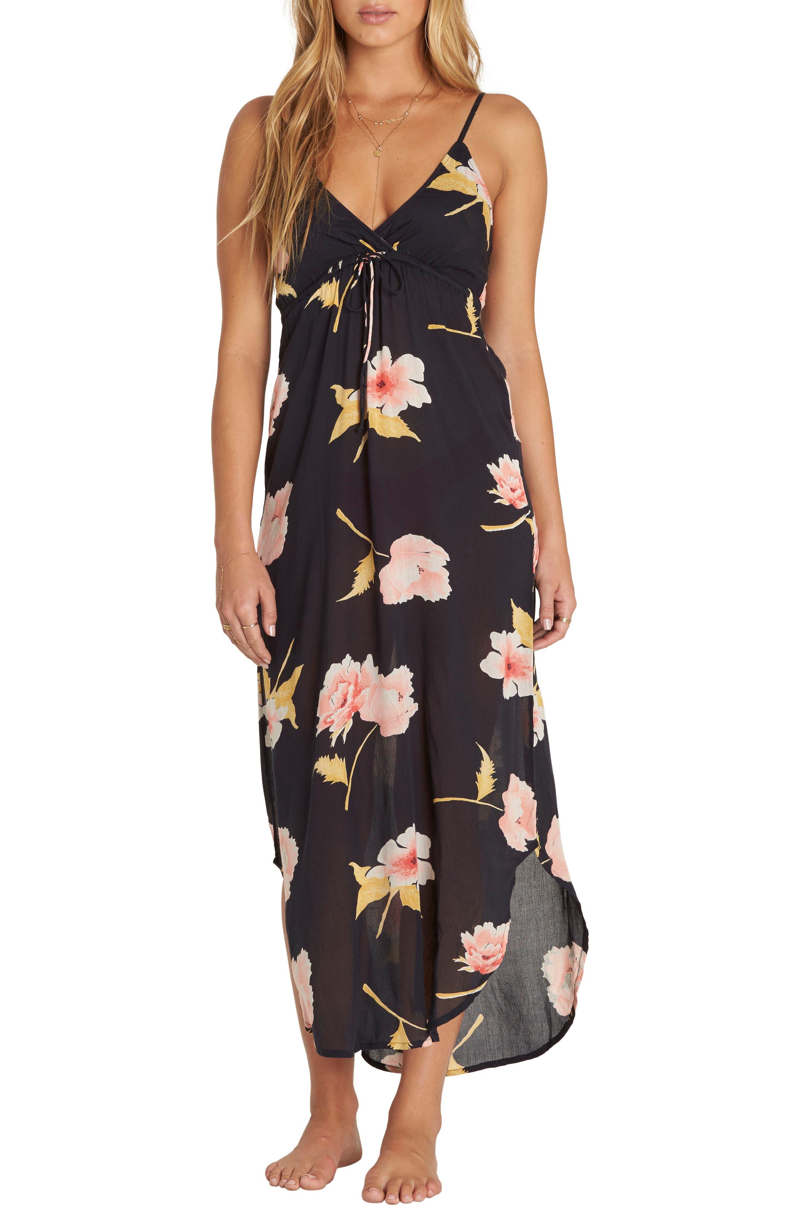 Like Minded Print Maxi Dress,                             Main thumbnail 1, color,                             001