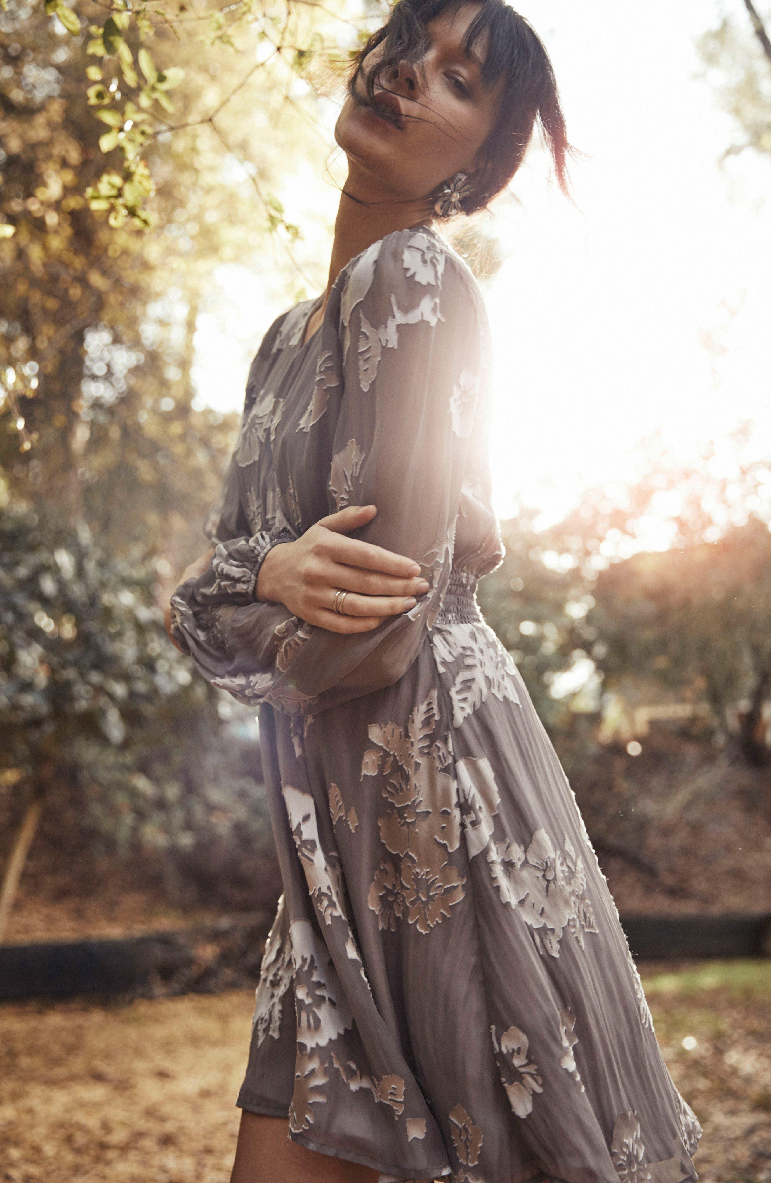 Mabeline Fit & Flare Dress,                             Alternate thumbnail 8, color,                             500