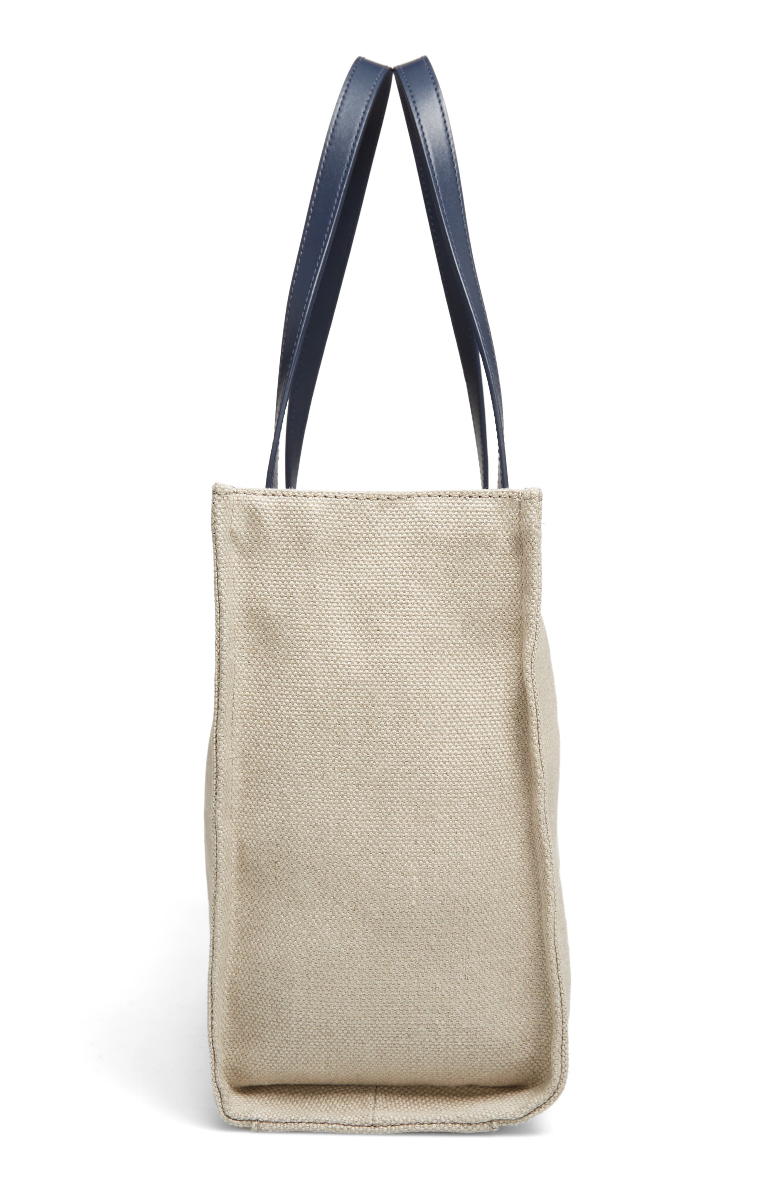 washington square - mega sam canvas shoulder bag,                             Alternate thumbnail 5, color,                             020