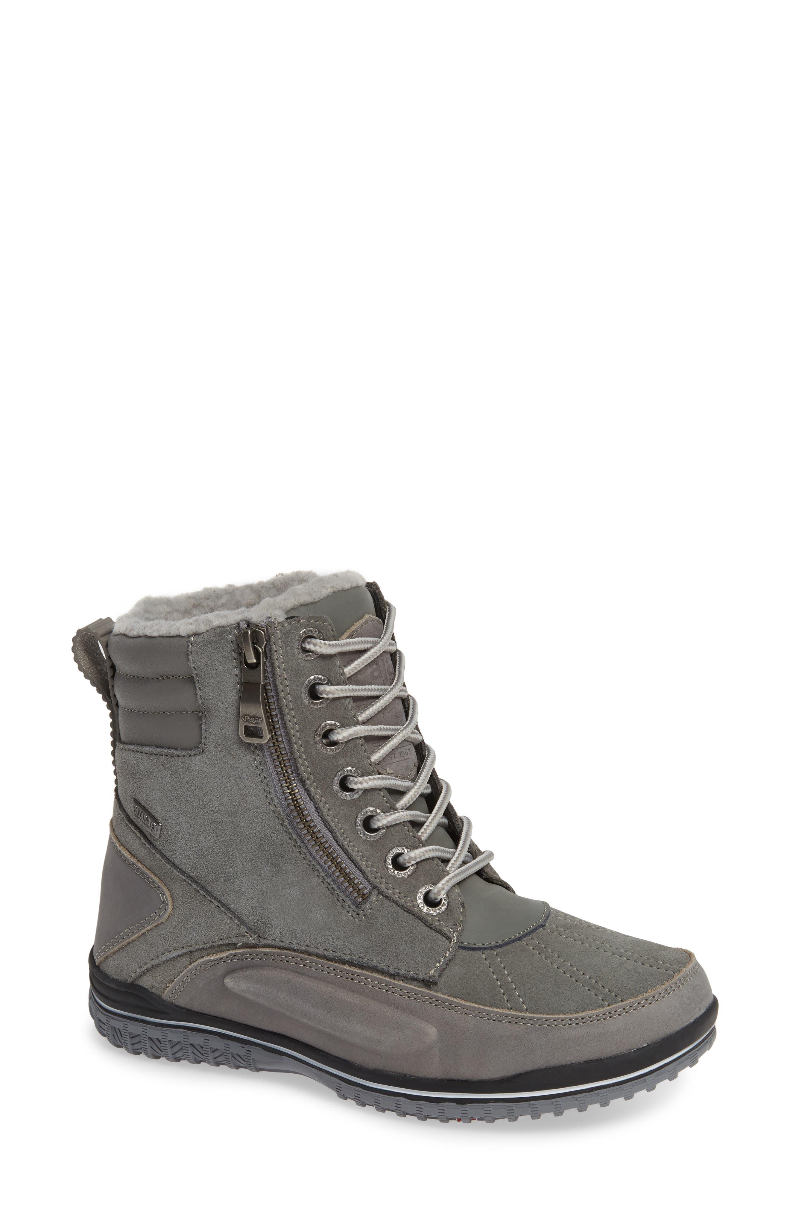 Pajar Jeana Waterproof Winter Boot, Grey
