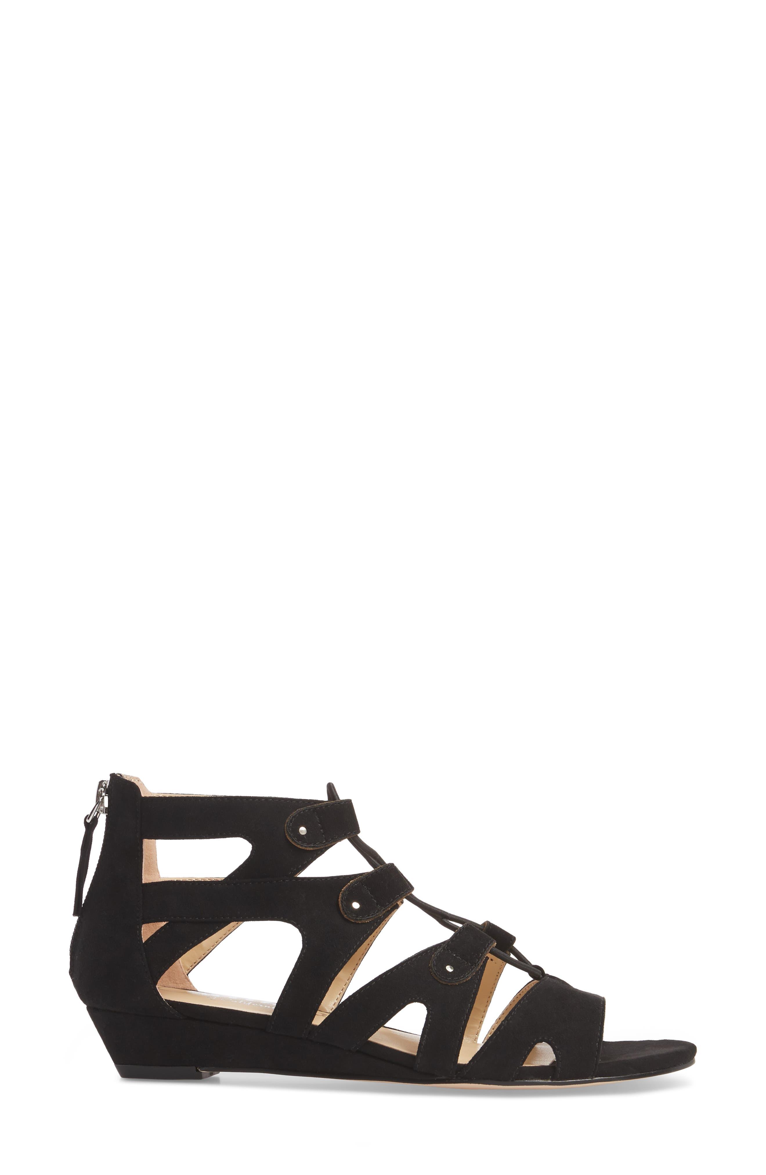 Lexx Lace-Up Sandal,                             Alternate thumbnail 3, color,                             003