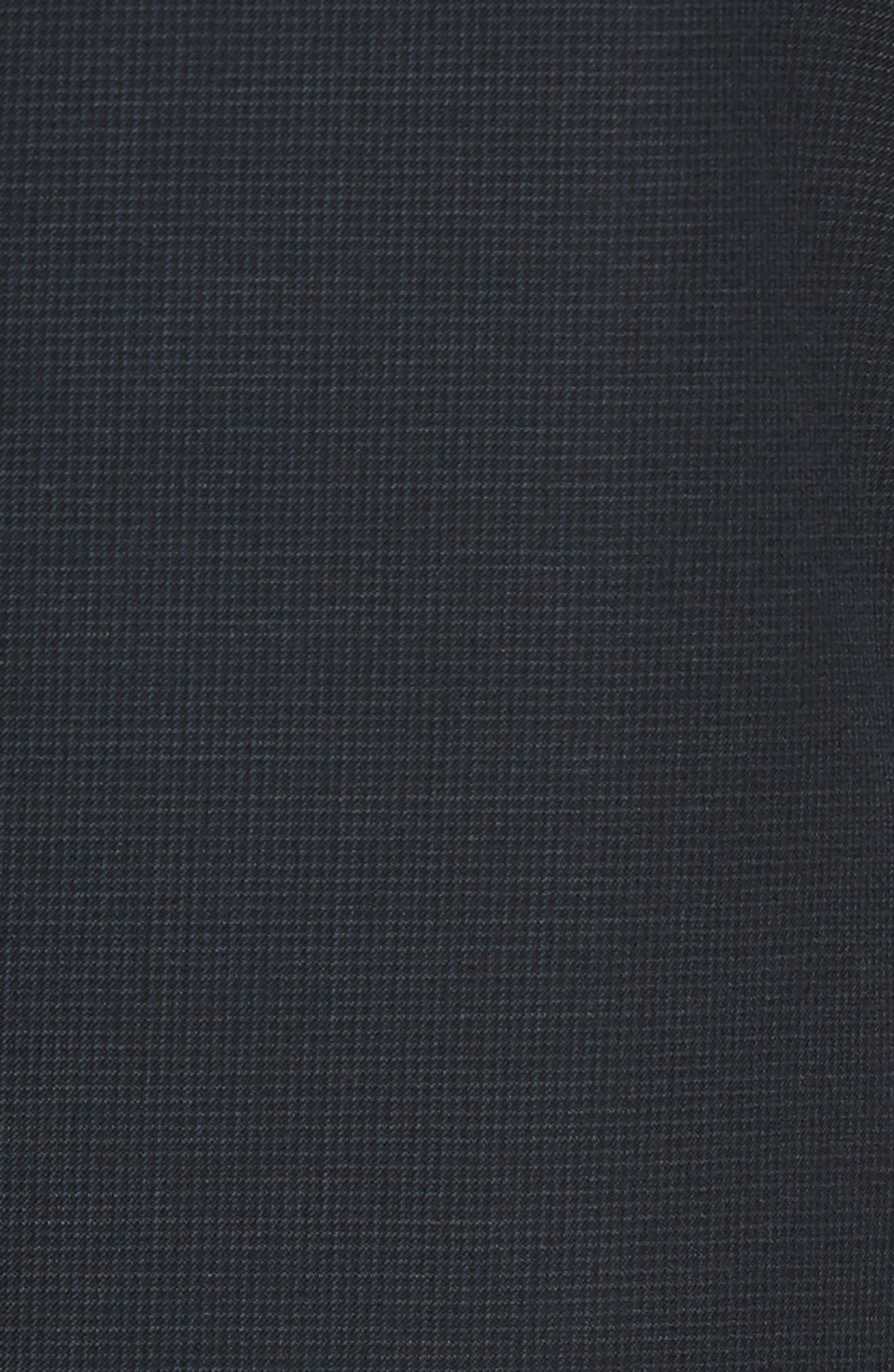 Classic Fit Check Wool Suit,                             Alternate thumbnail 27, color,
