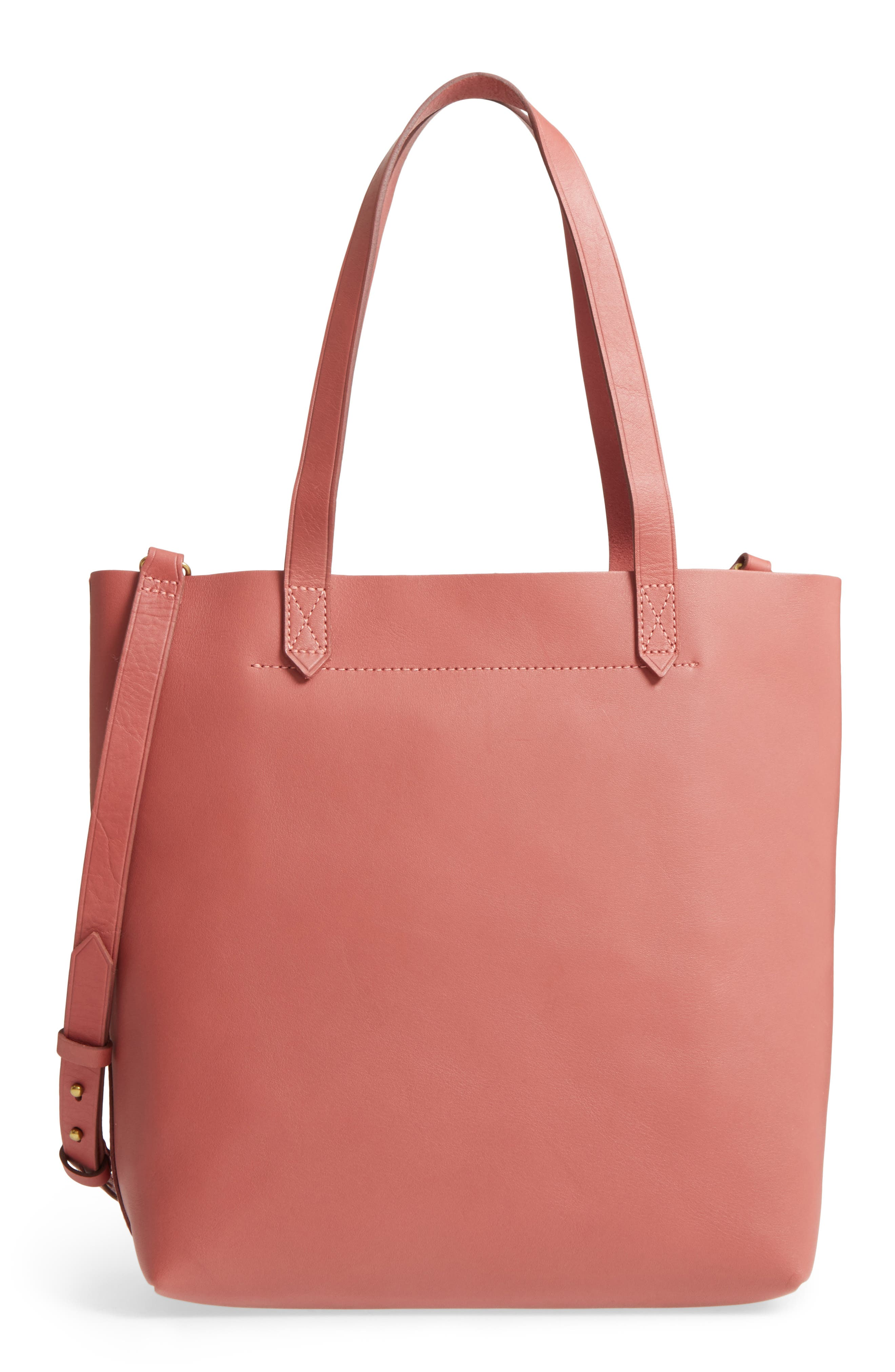 Medium Leather Transport Tote,                             Main thumbnail 12, color,