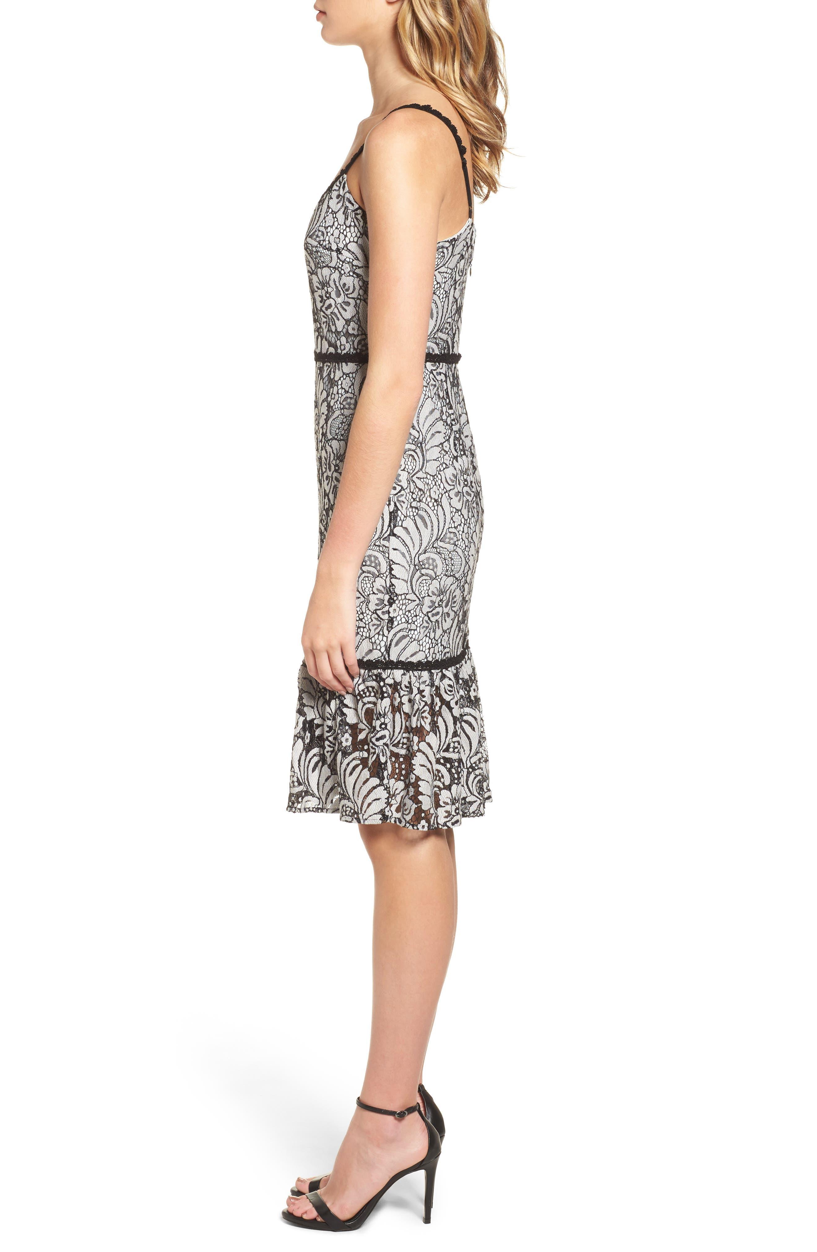 Sue Lace Dress,                             Alternate thumbnail 3, color,                             900
