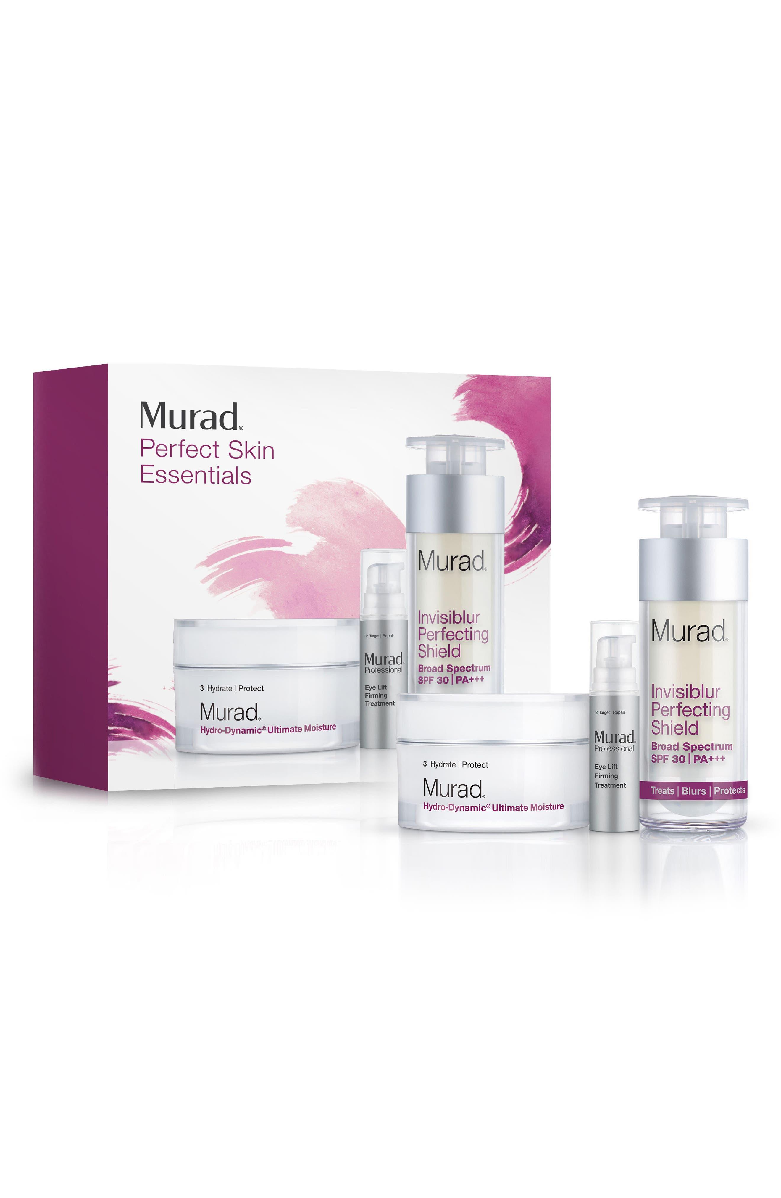 MURAD<SUP>®</SUP>,                             Perfect Skin Essentials Set,                             Main thumbnail 1, color,                             000