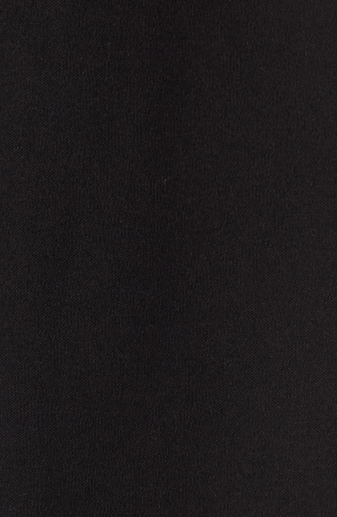 Long Knit Jacket,                             Alternate thumbnail 6, color,                             001
