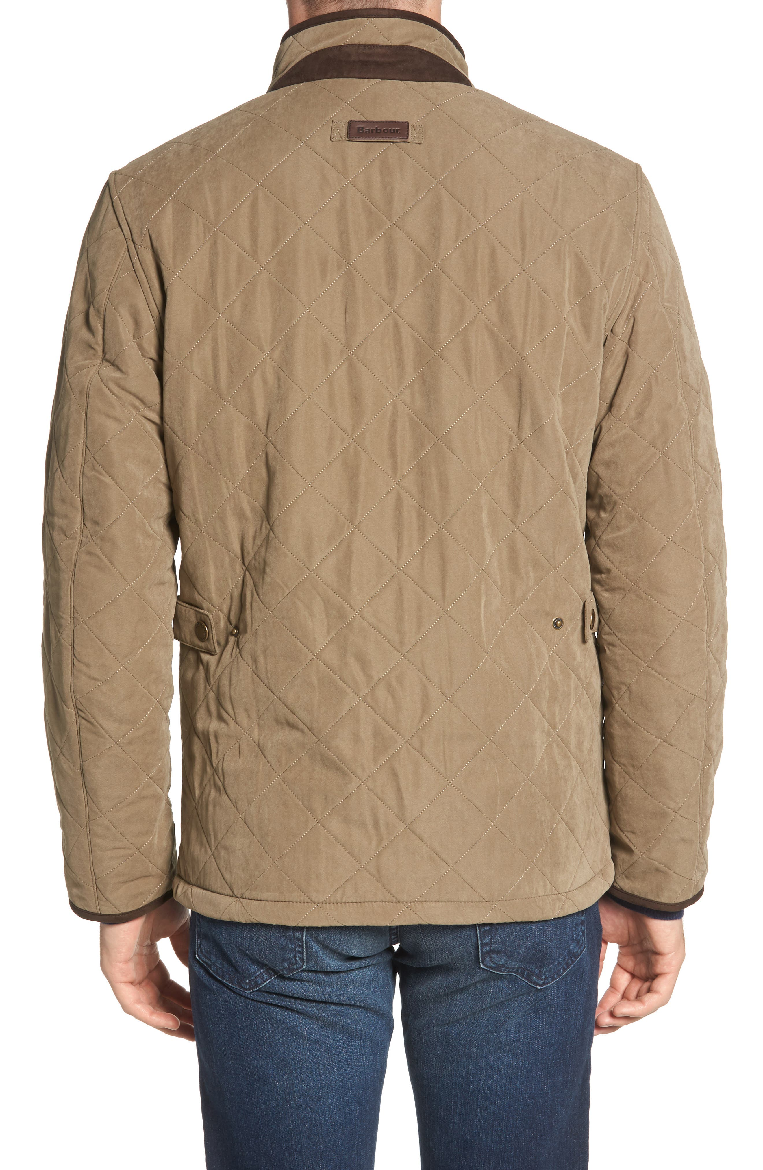 Bowden Quilted Jacket,                             Alternate thumbnail 2, color,                             LIGHT OLIVE