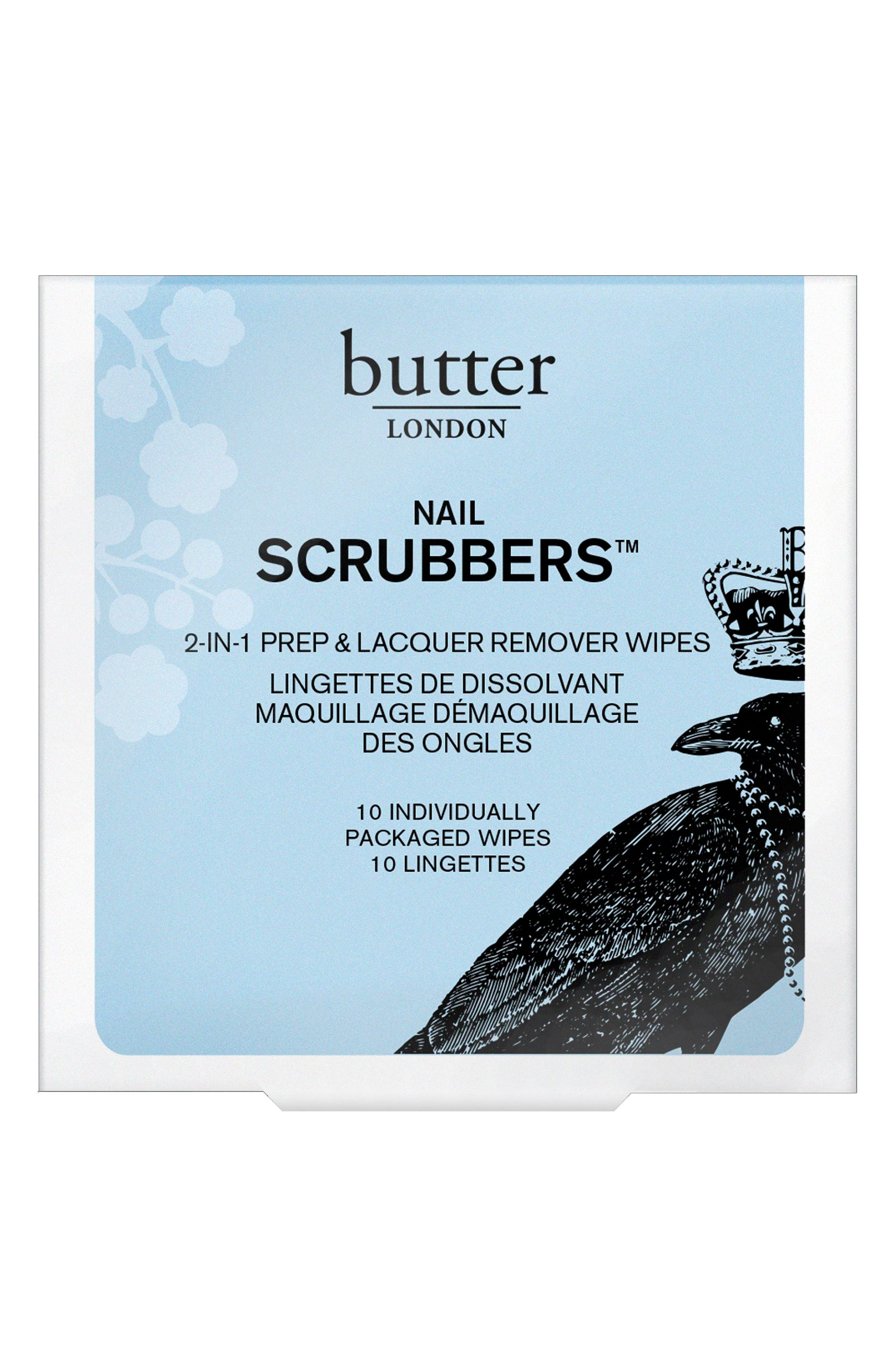 'Scrubbers' Nail Polish Remover,                             Alternate thumbnail 2, color,                             000