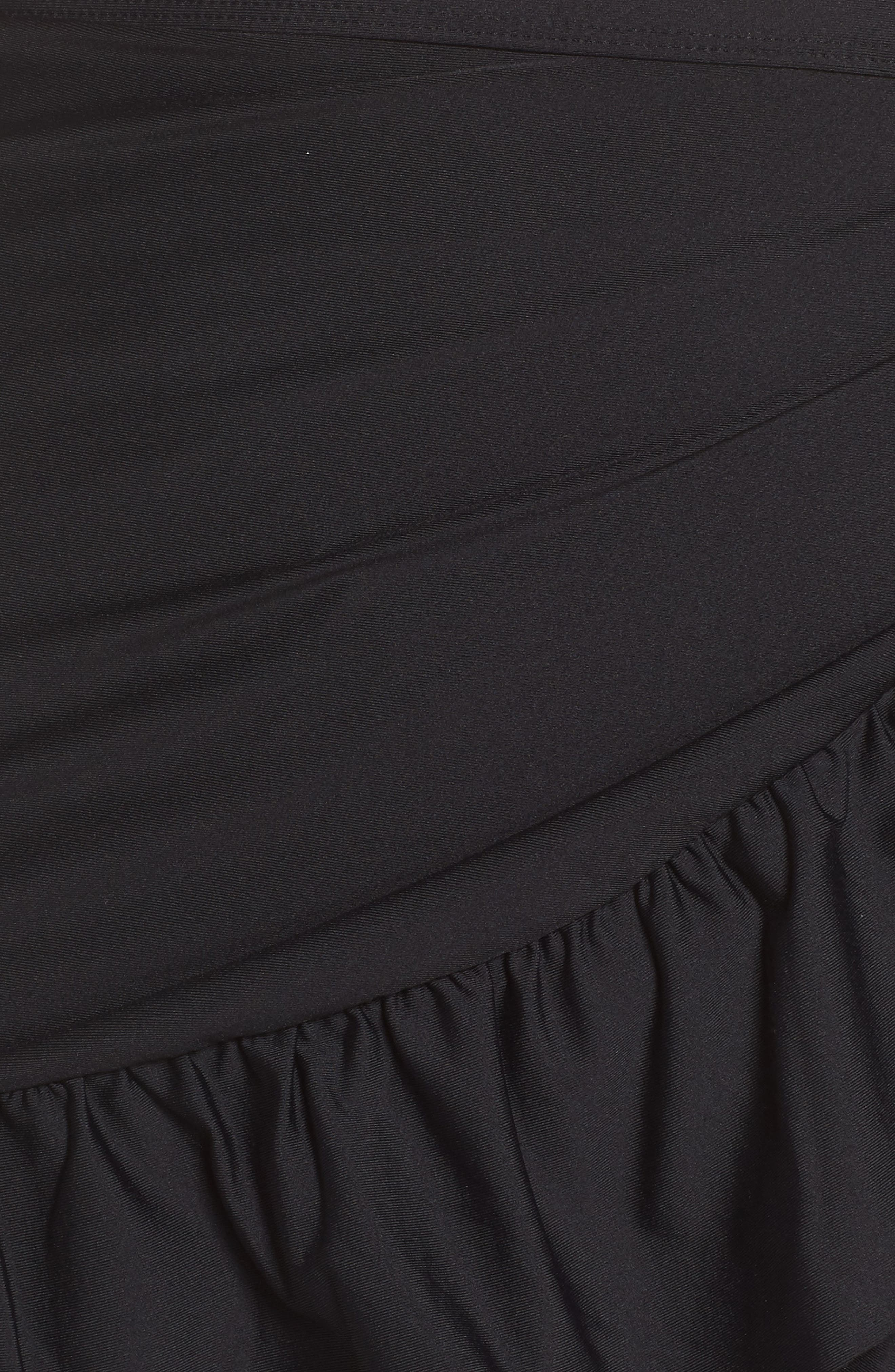 Cover-Up Wrap Skirt,                             Alternate thumbnail 5, color,                             001