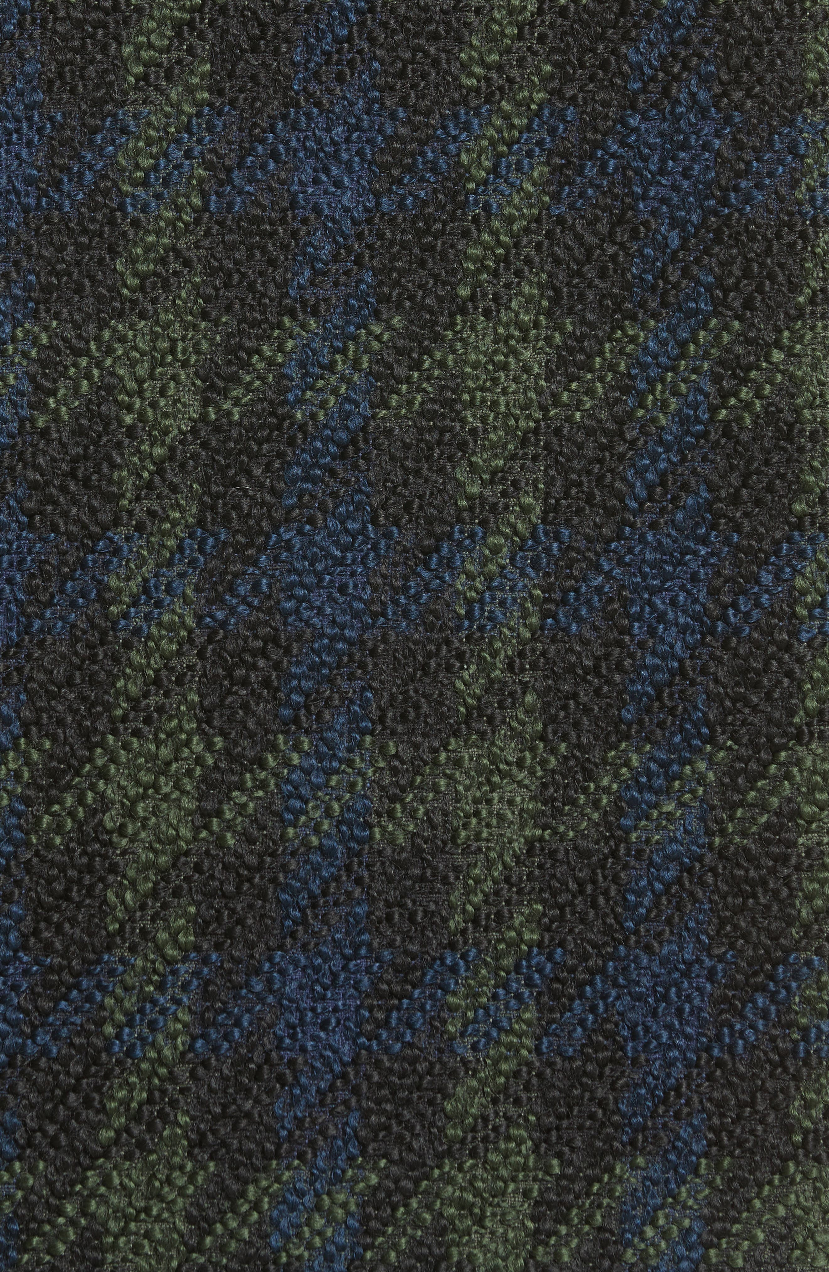 Euphrasie Wool Blend Houndstooth Coat,                             Alternate thumbnail 7, color,