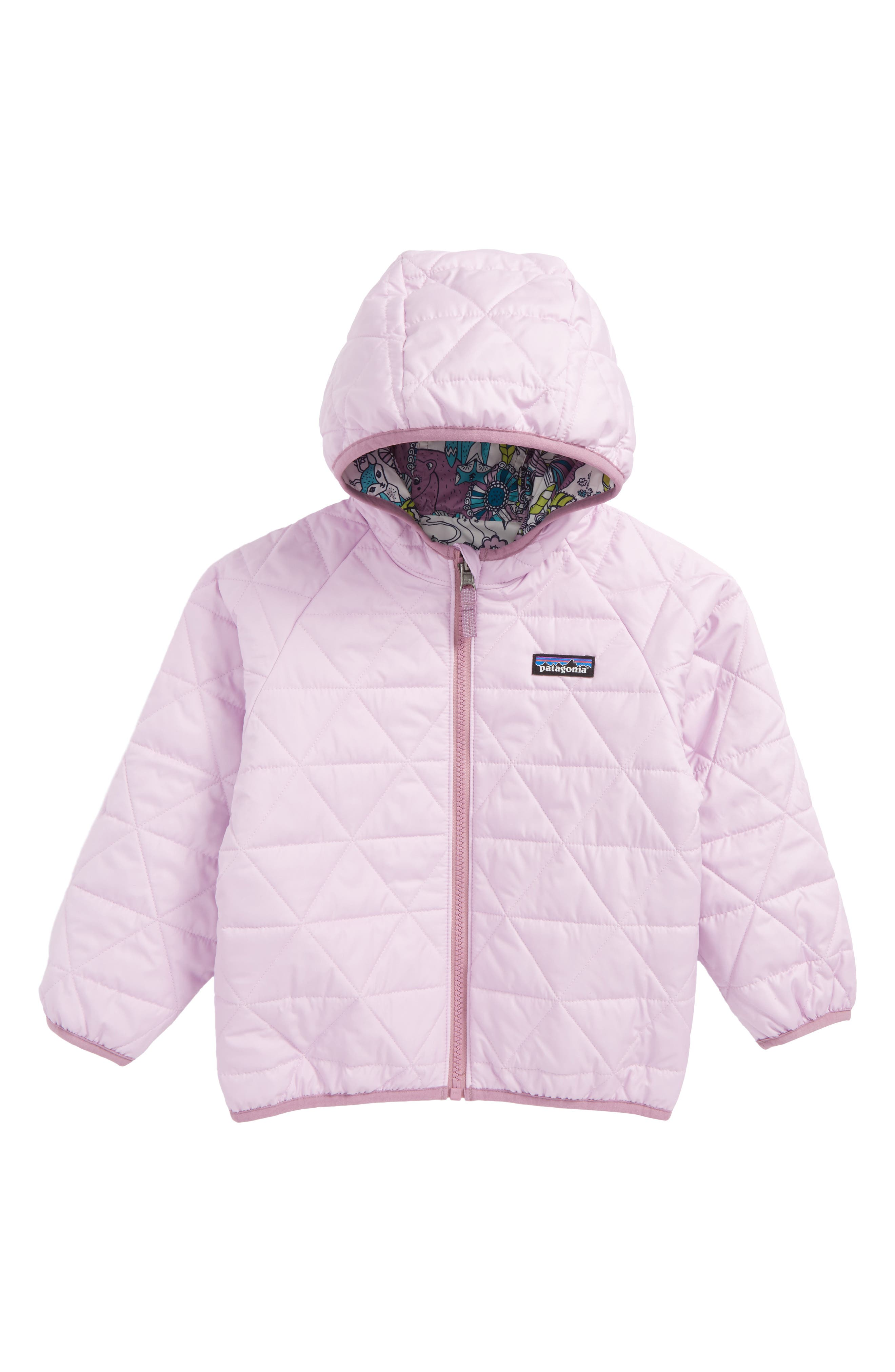 'Puff-Ball' Water Resistant Reversible Hooded Jacket,                             Alternate thumbnail 2, color,                             101