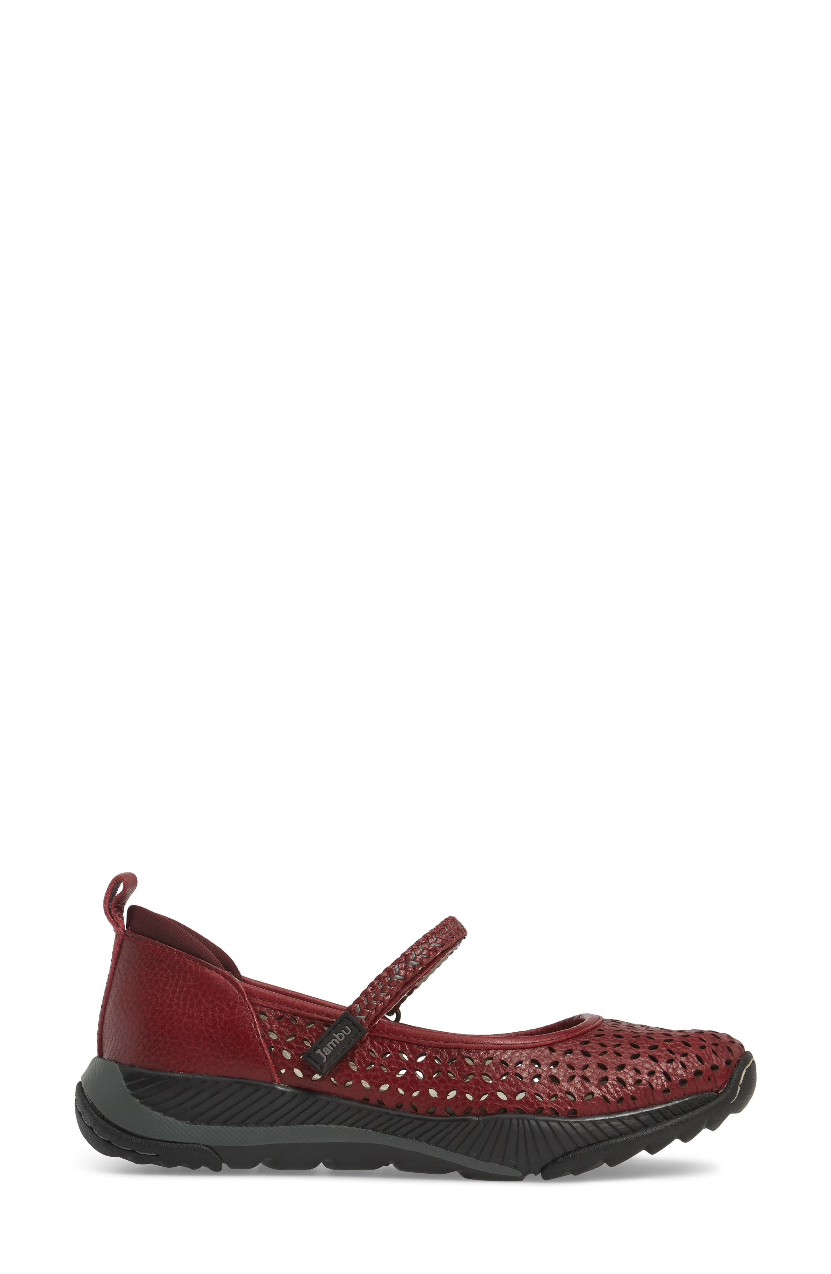 Bailey Perforated Mary Jane Sneaker,                             Alternate thumbnail 11, color,
