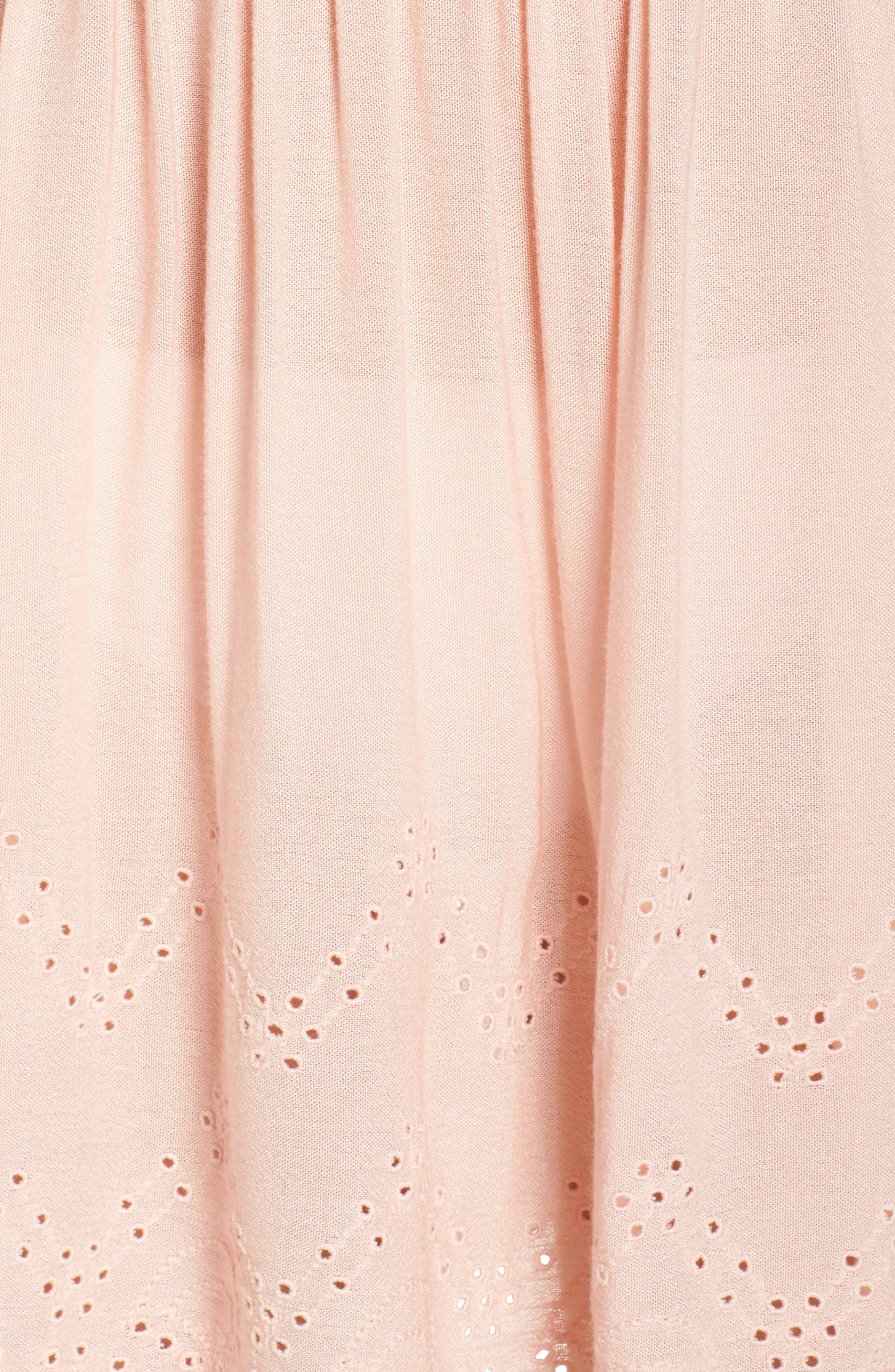 Goddess Cover-Up Dress,                             Alternate thumbnail 5, color,                             PINK ROSECLOUD