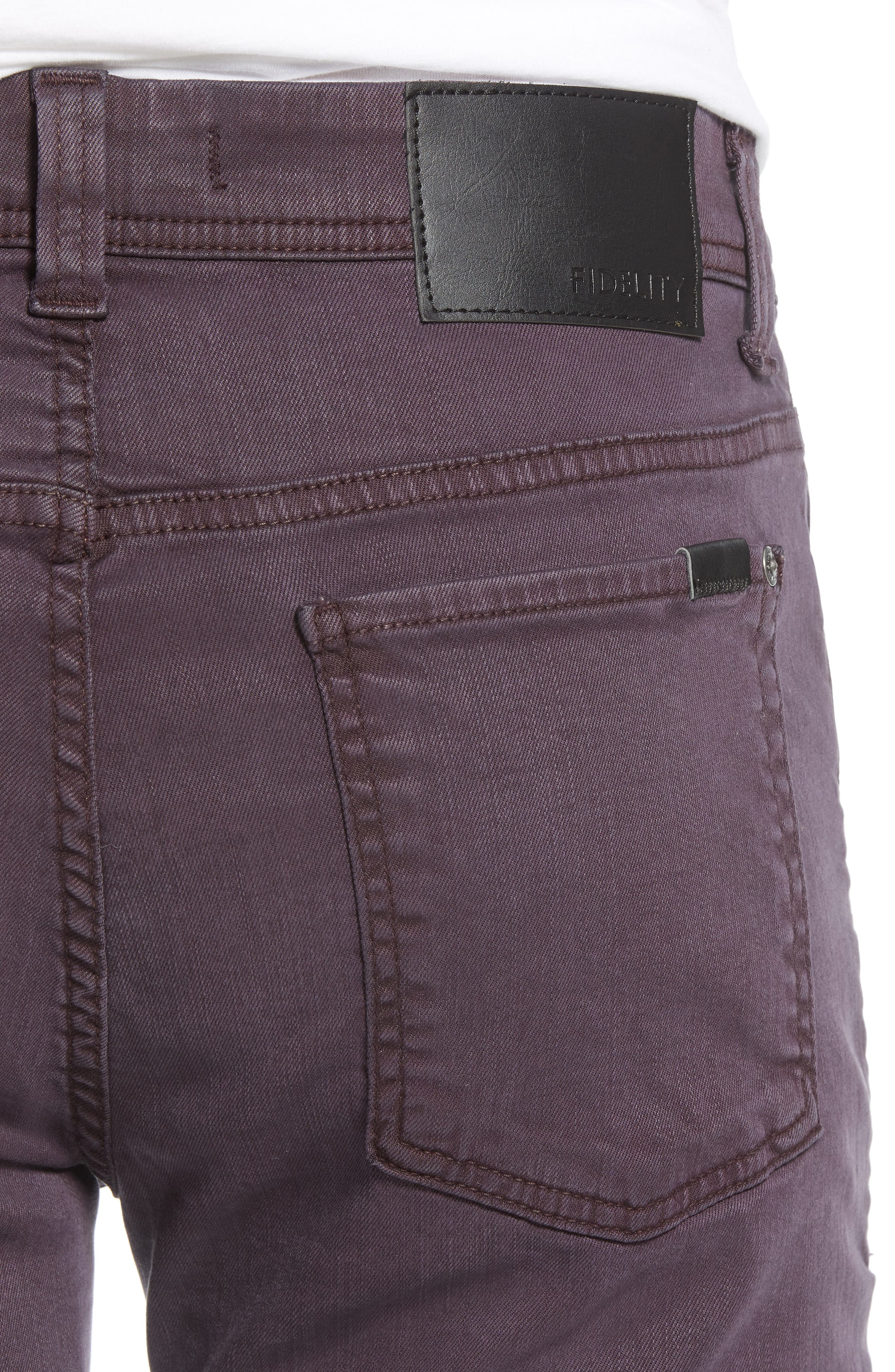 Jimmy Slim Straight Leg Jeans,                             Alternate thumbnail 4, color,                             600