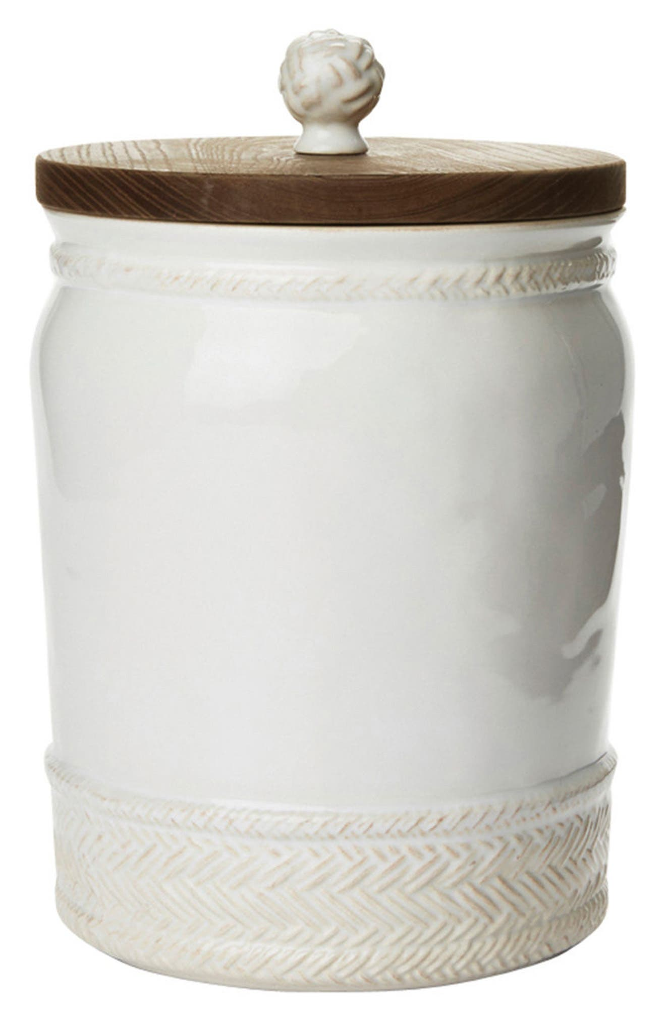 Le Panier Ceramic Canister,                         Main,                         color, 100